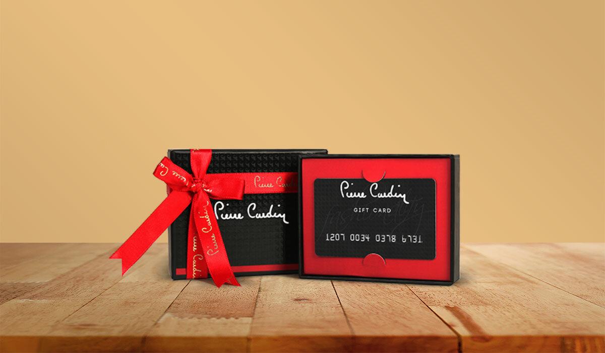 Pierre Cardin Gift Card