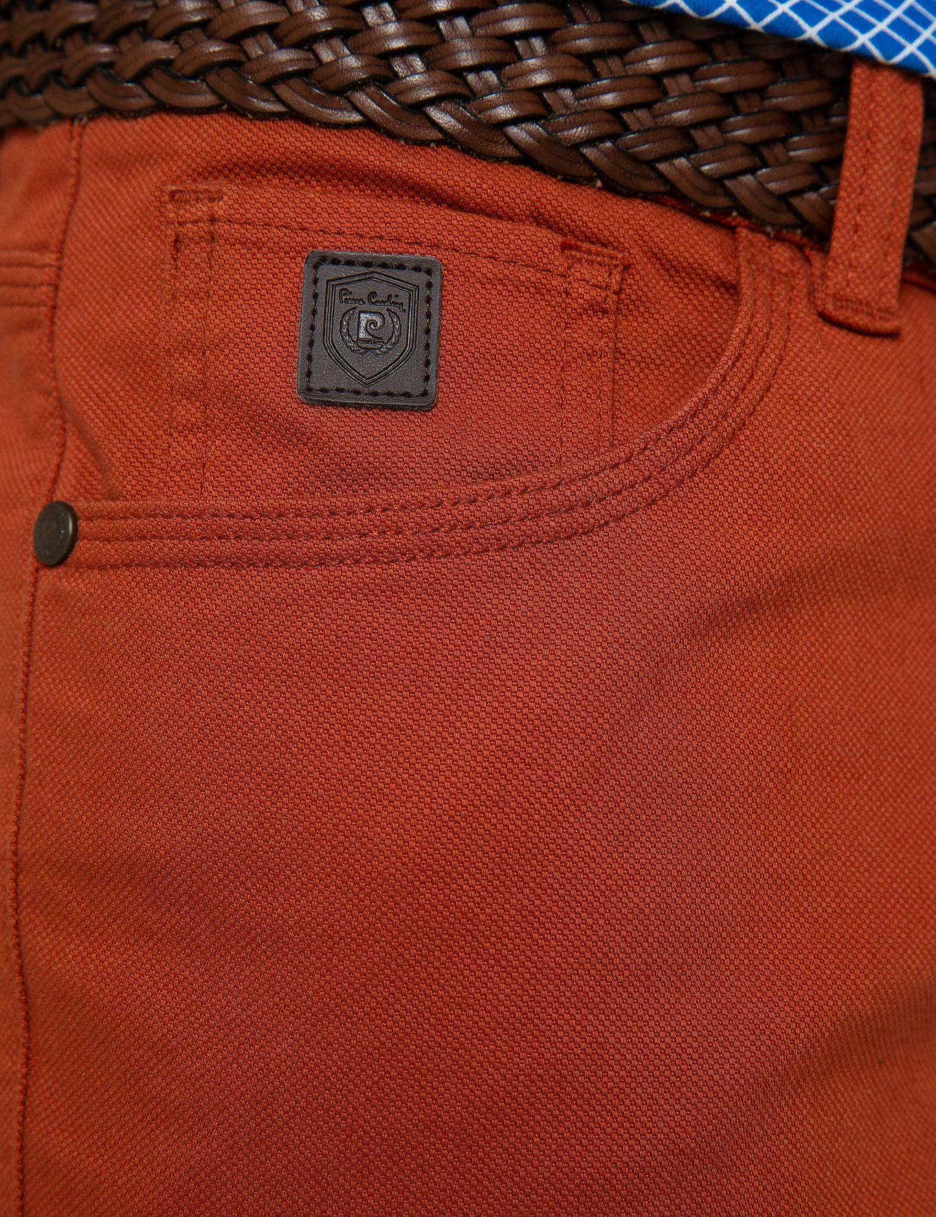 Kiremit Slim Fit Chino Pantolon