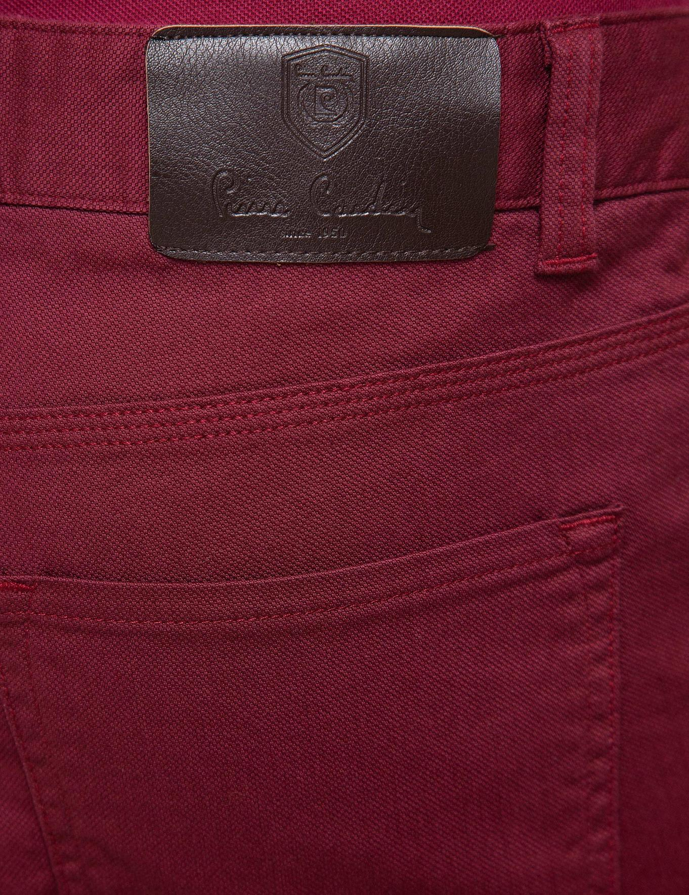 Bordo Chino Pantolon
