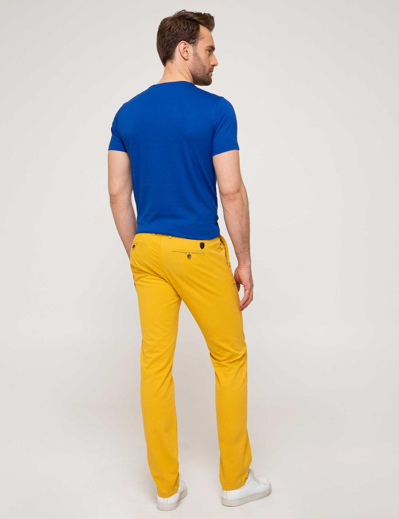 Safran Slim Fit Chino Pantolon
