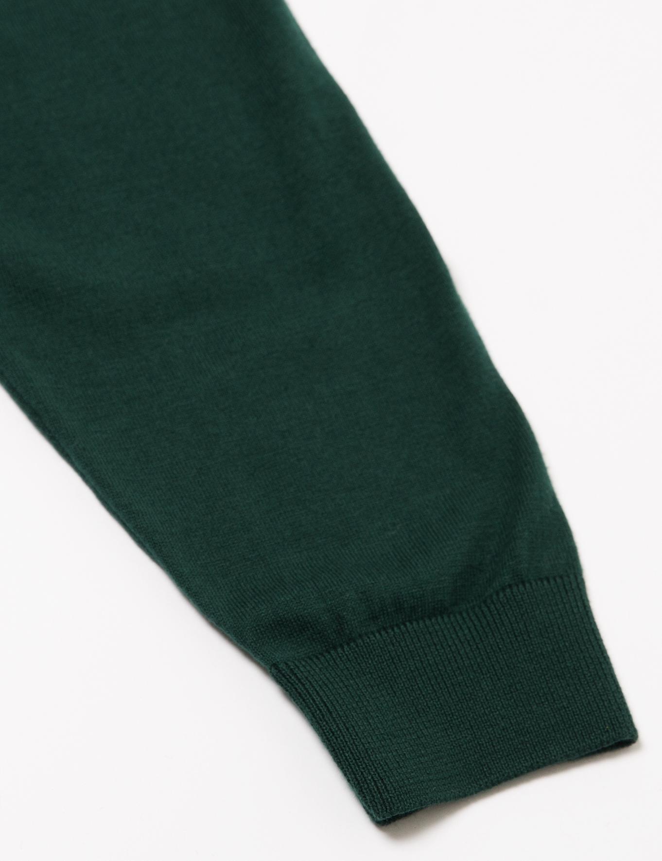Yeşil Triko Hırka