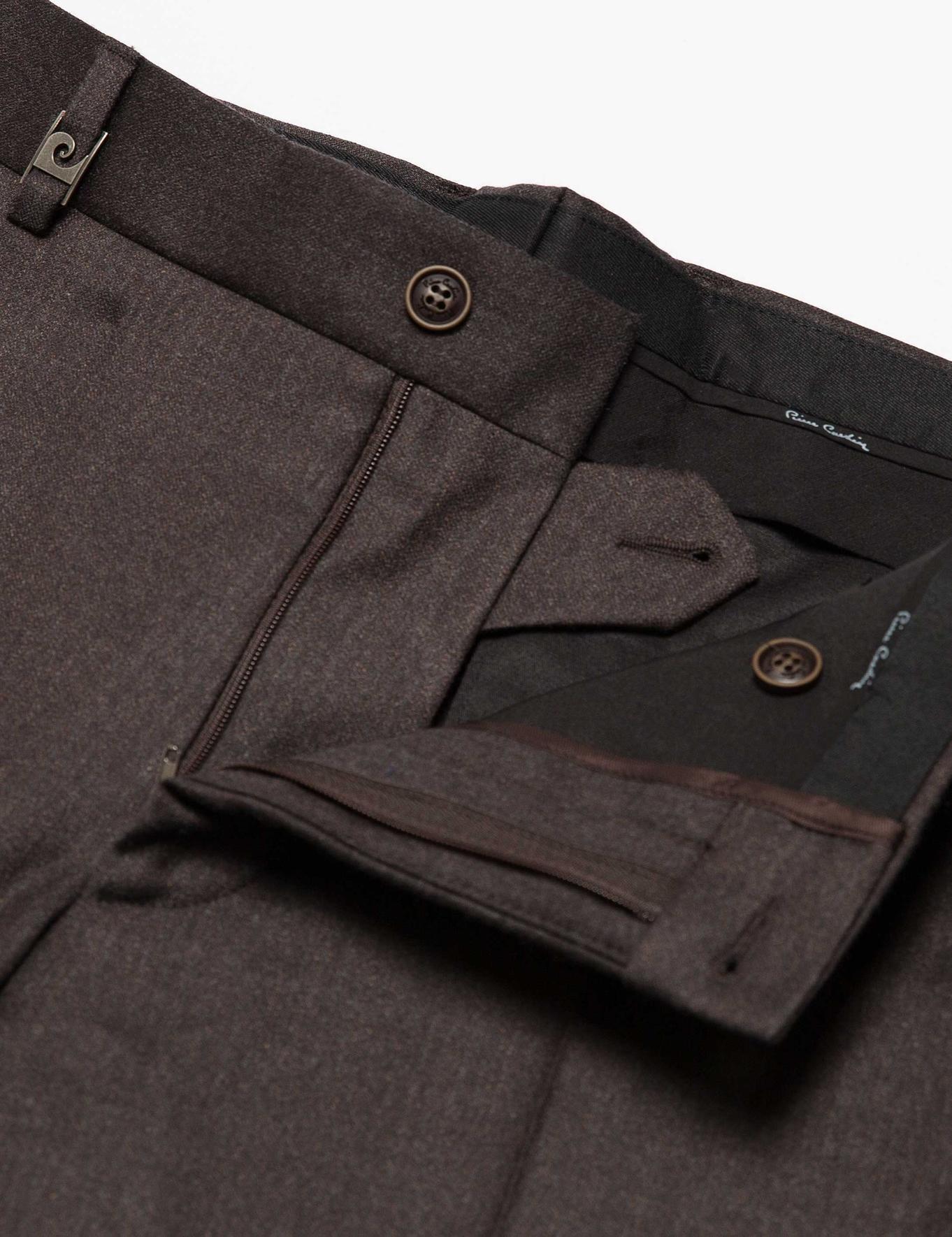 Kahverengi Klasik Pantolon