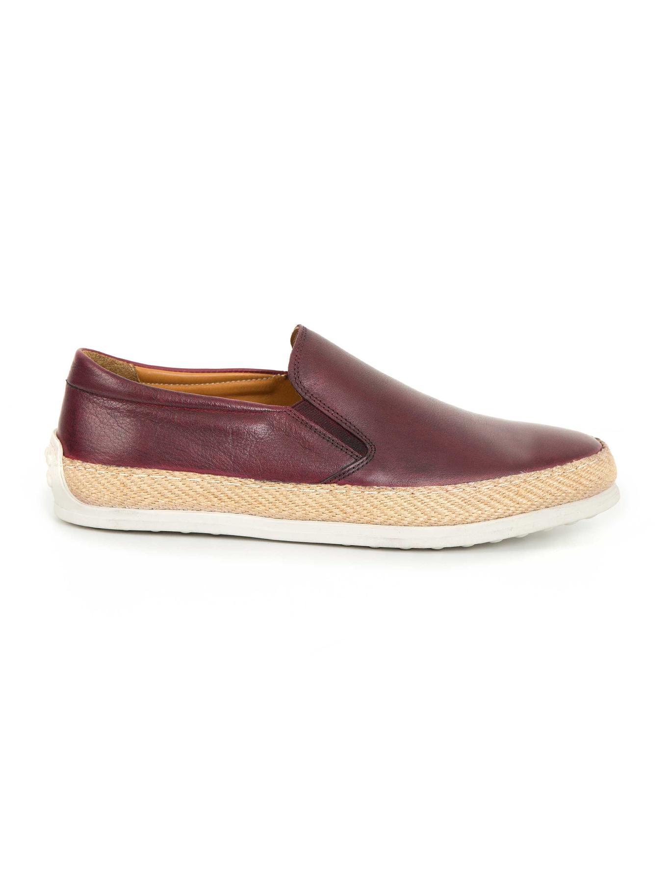 Bordo Oxford Ayakkabı
