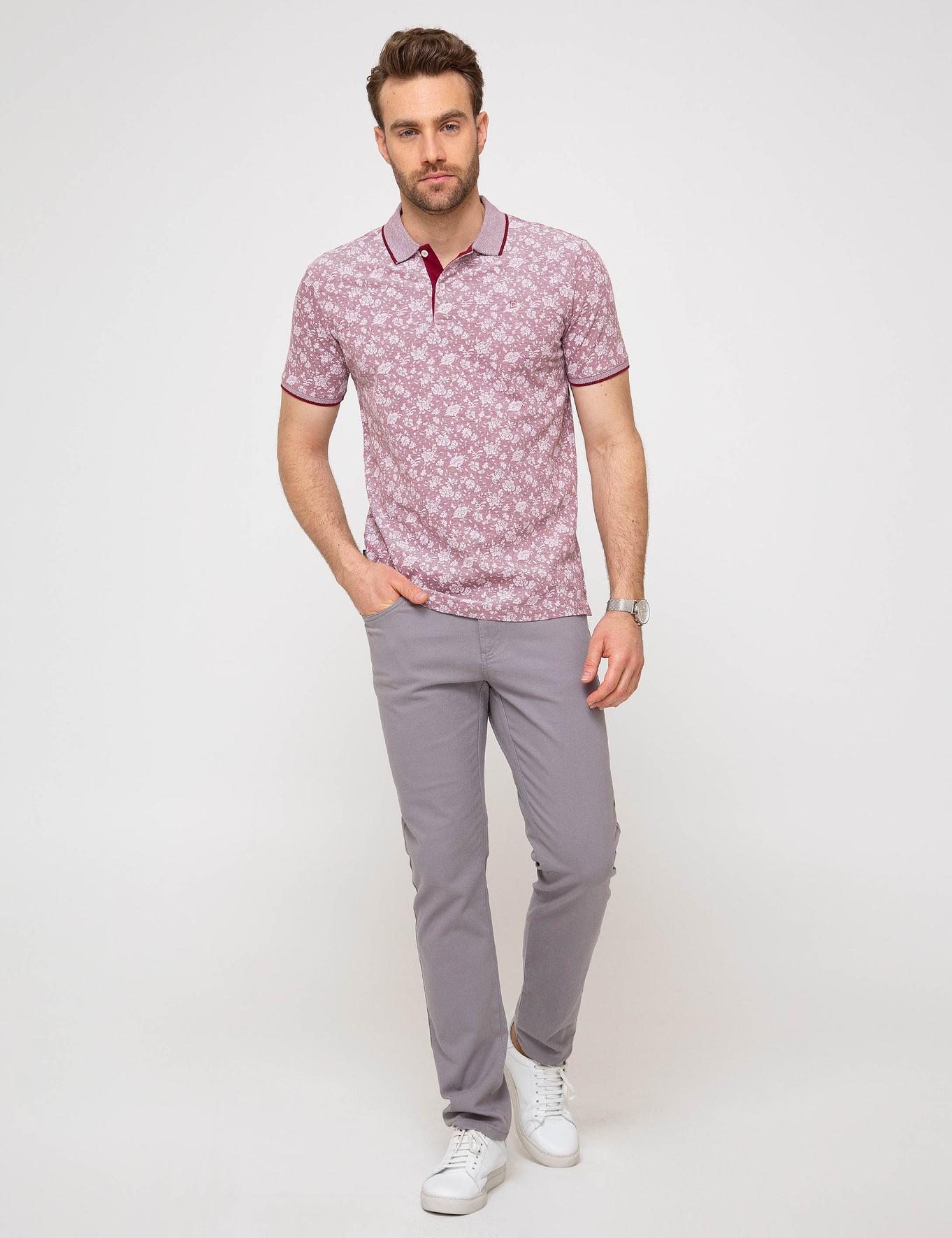 Bordo Slim Fit T-Shirt