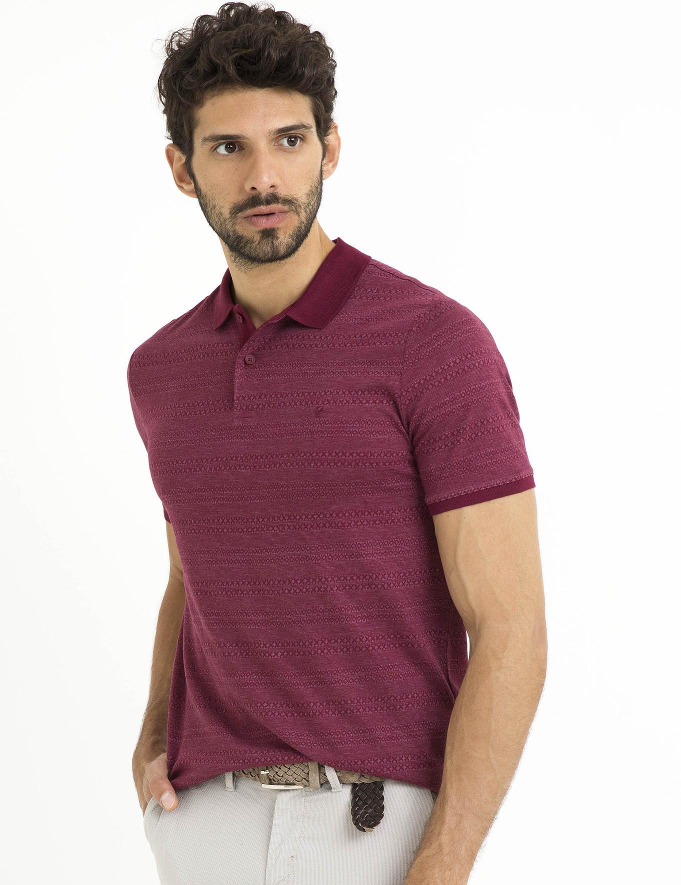 Bordo Tişört