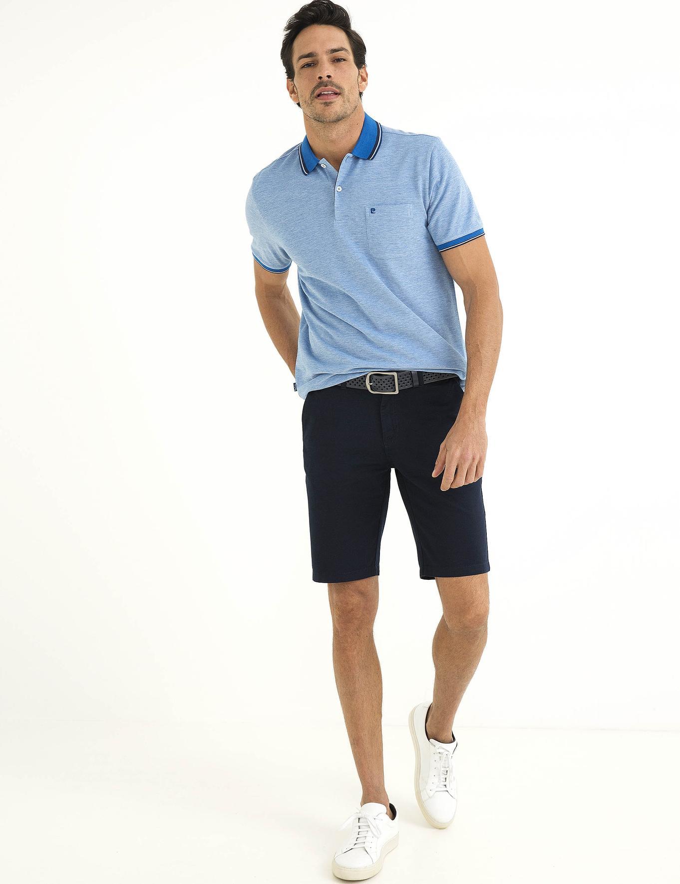 Saks Mavi Regular Fit Polo Yaka T-Shirt