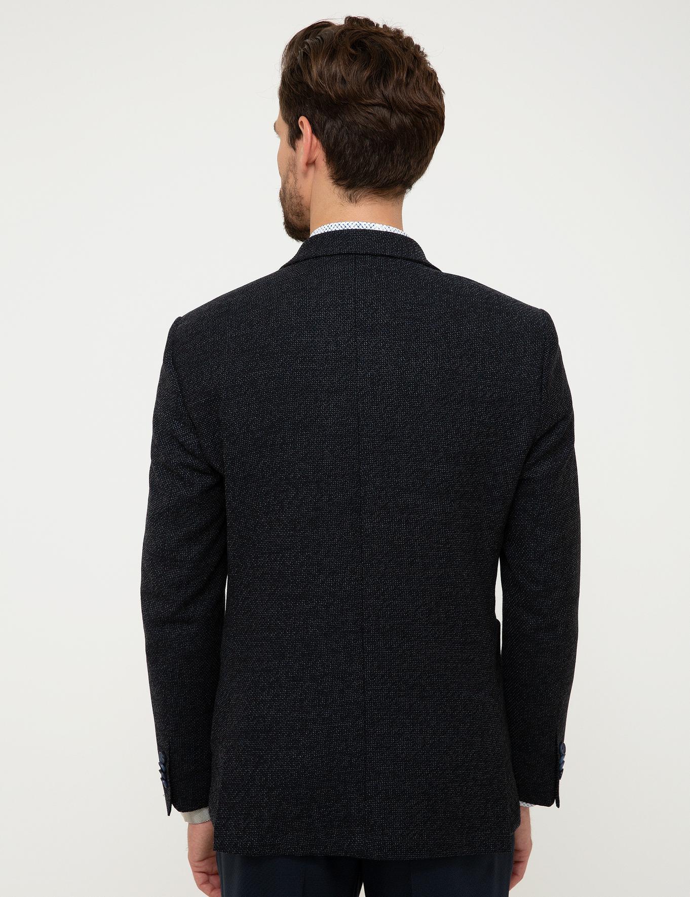 Lacivert Slim Ceket