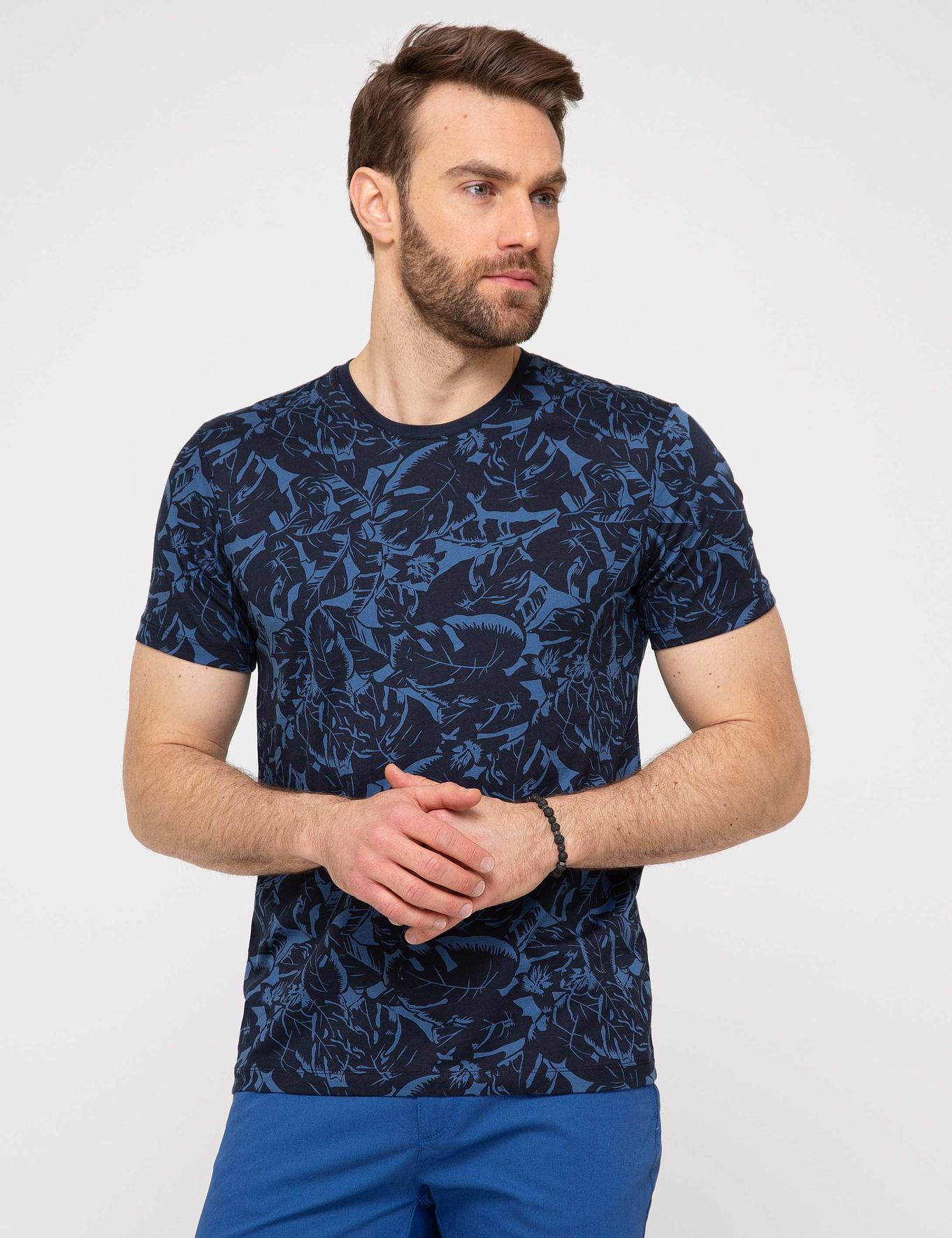 Lacivert Tişört