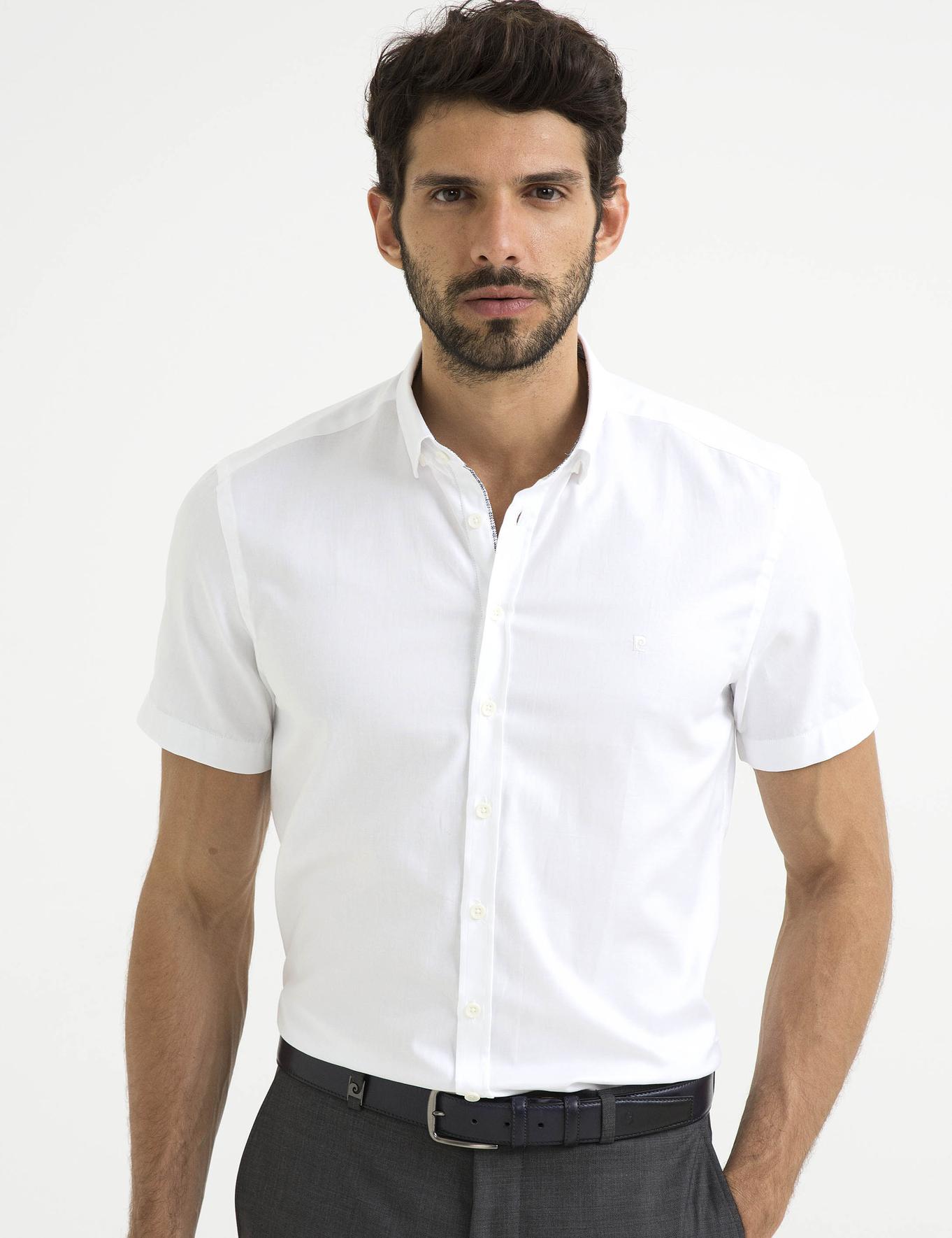 Slim Beyaz Gömlek