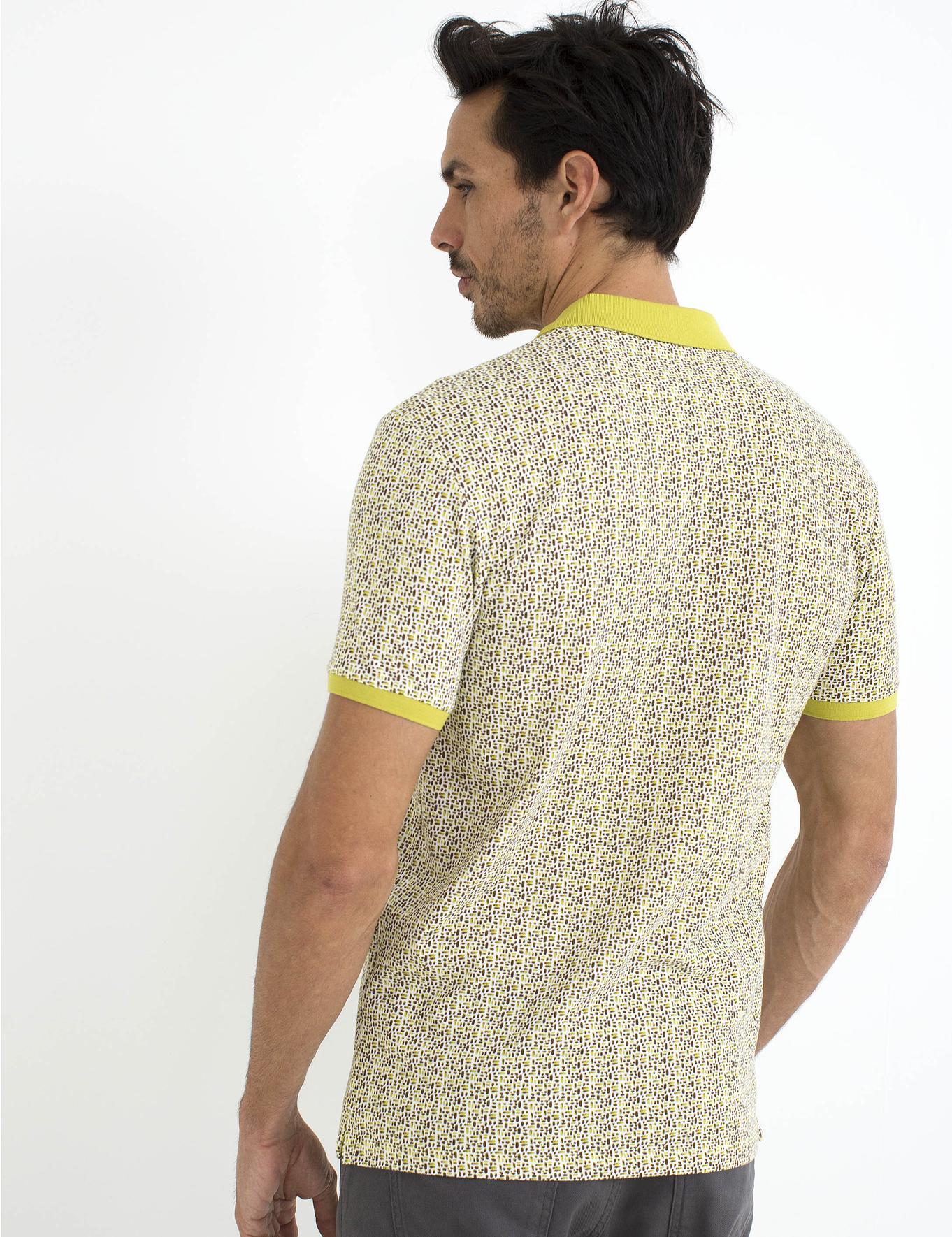 Sarı Slim Fit T-Shirt