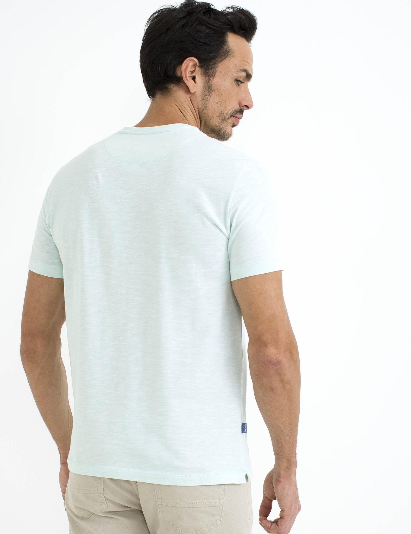 Açık Yeşil Slim Fit T-Shirt