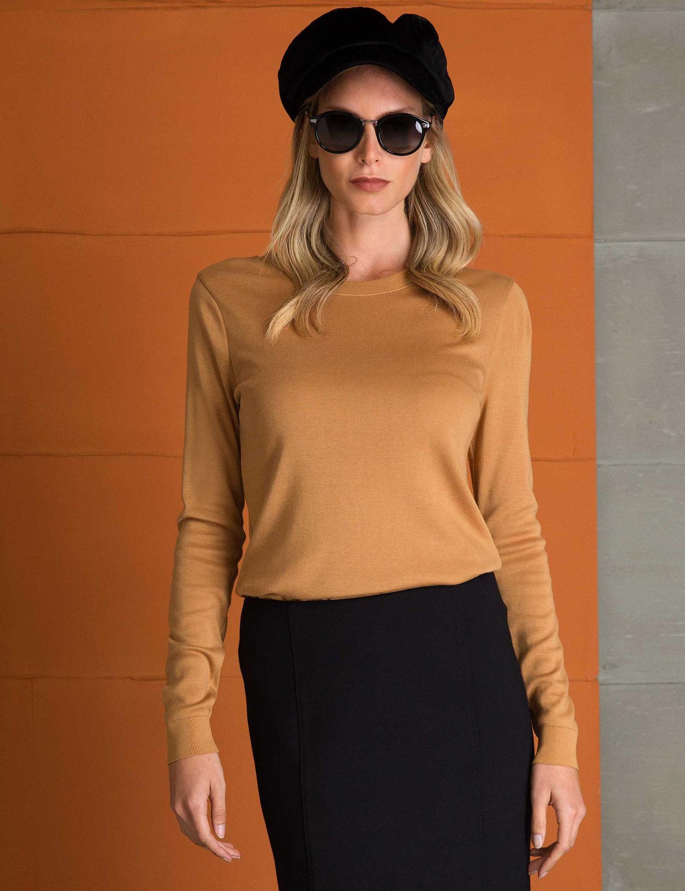 Kahverengi T-Shirt