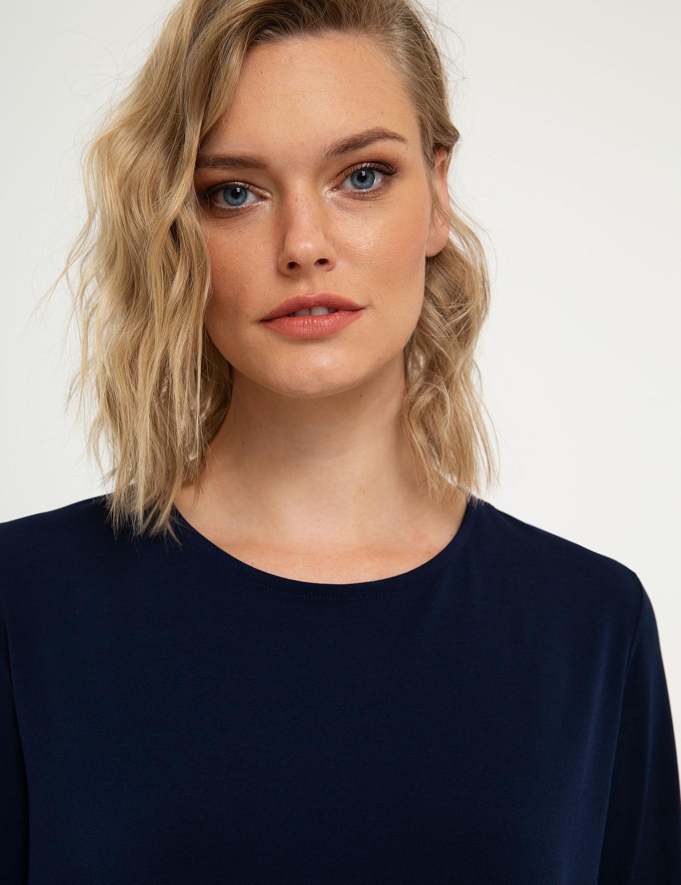 Lacivert Bluz