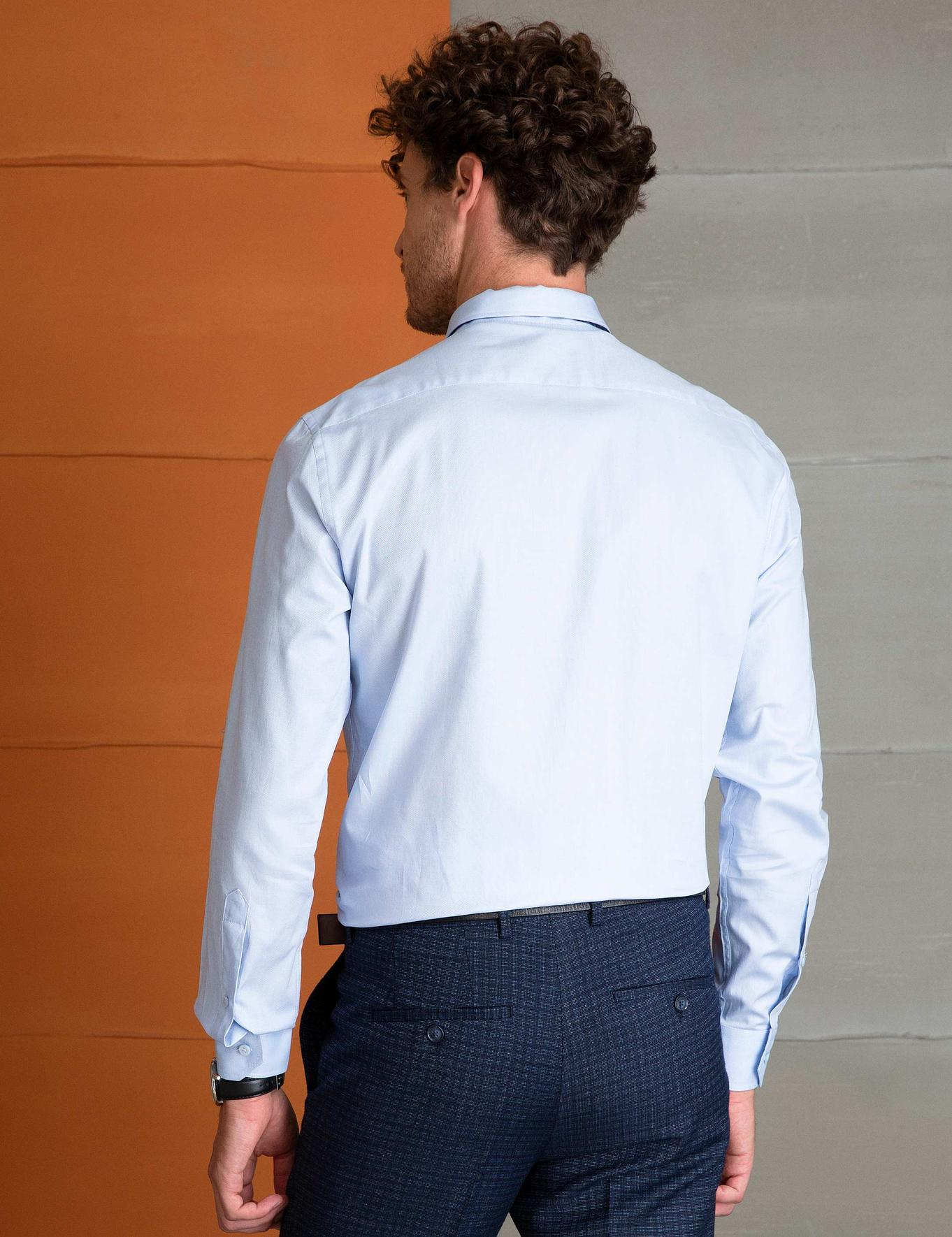 Slim Mavi Gömlek