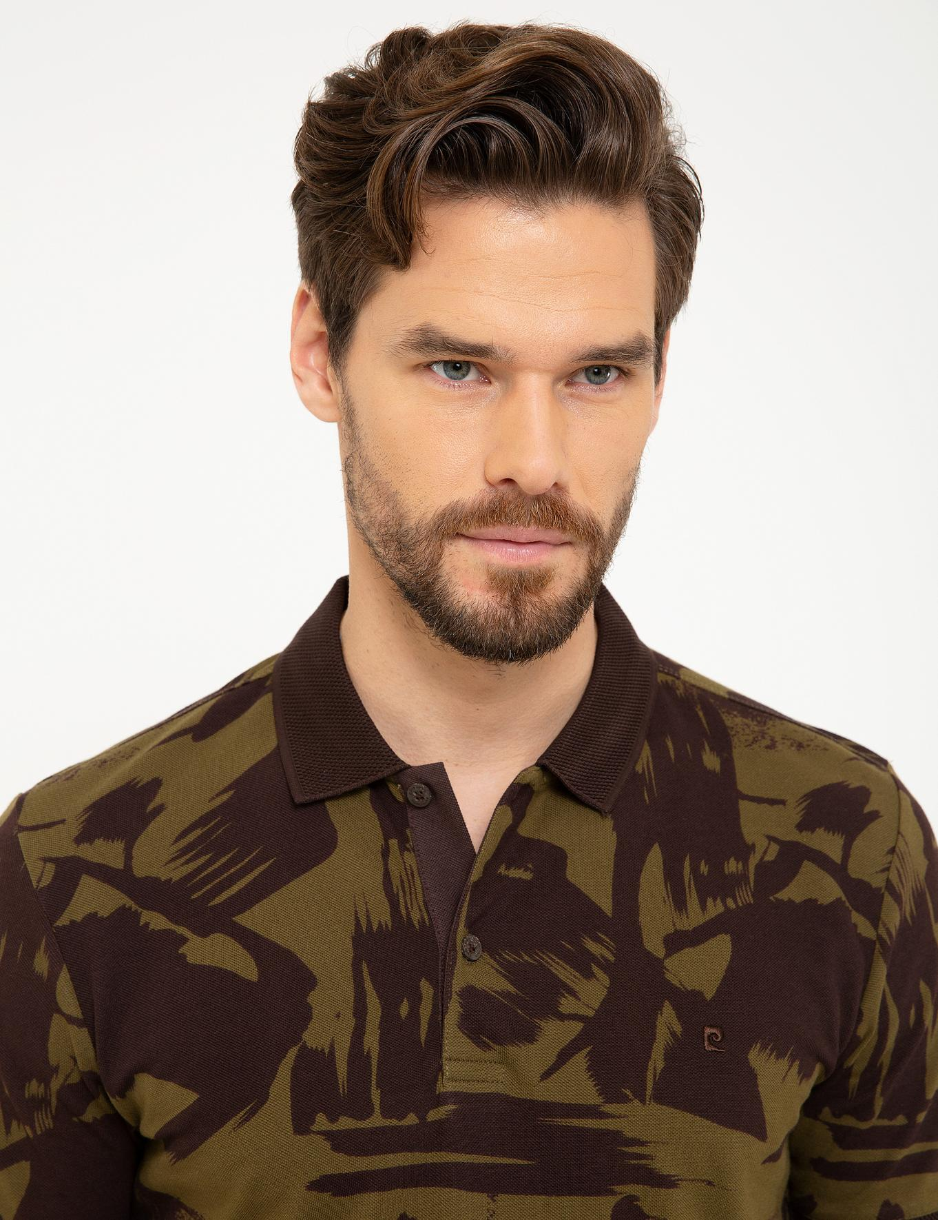Kahverengi Slim Fit T-Shirt