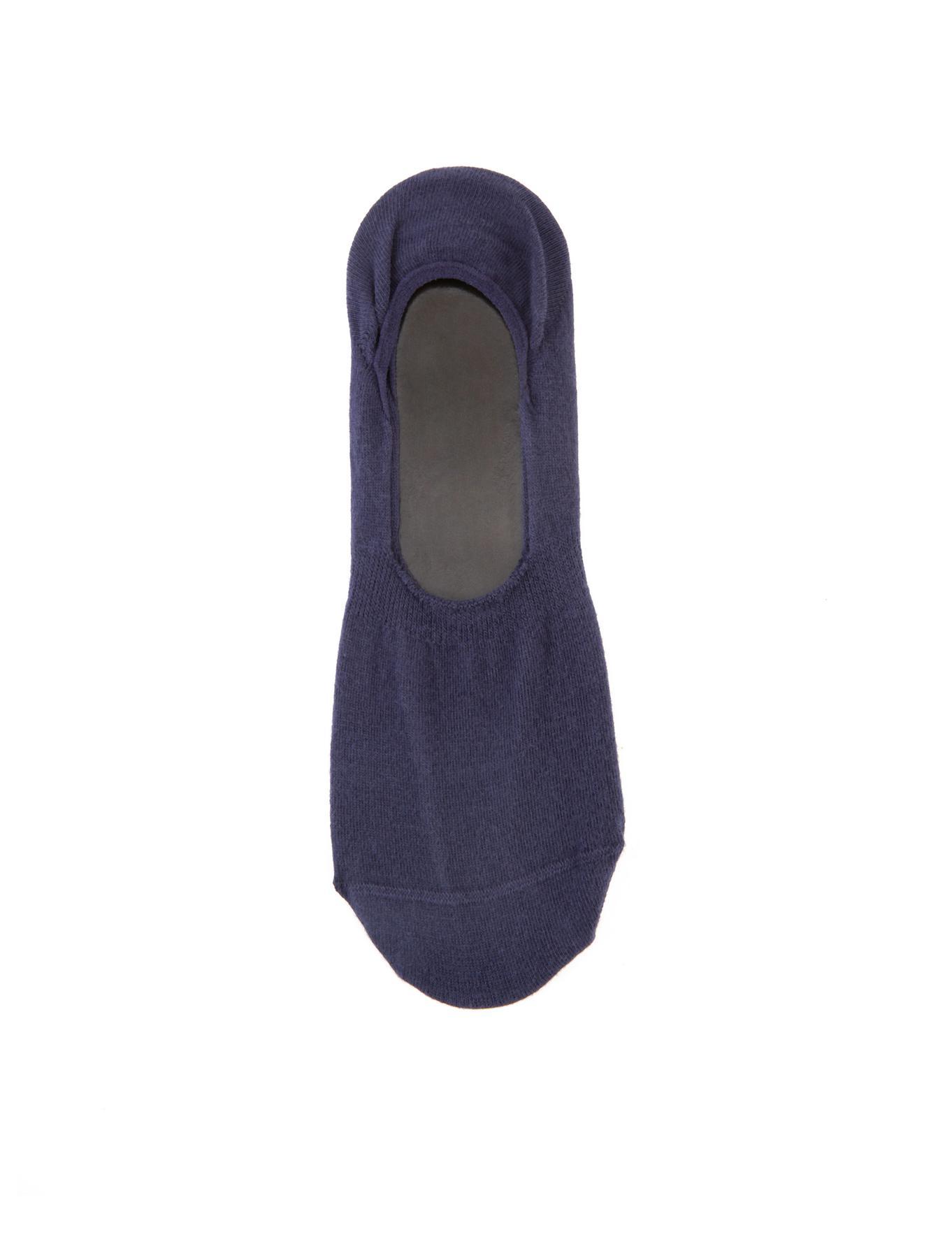 Lacivert Babet Çorap