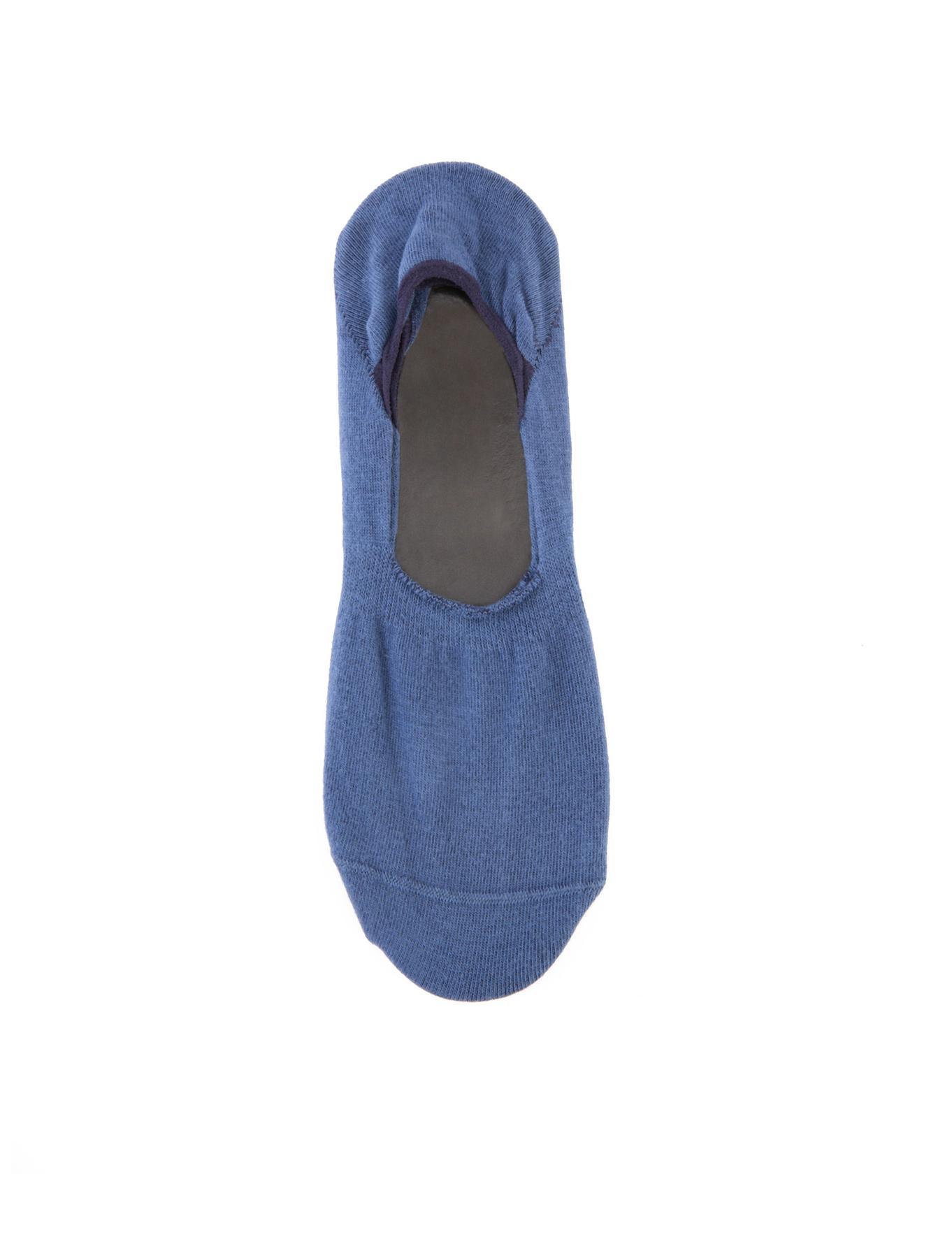 Mavi Babet Çorap