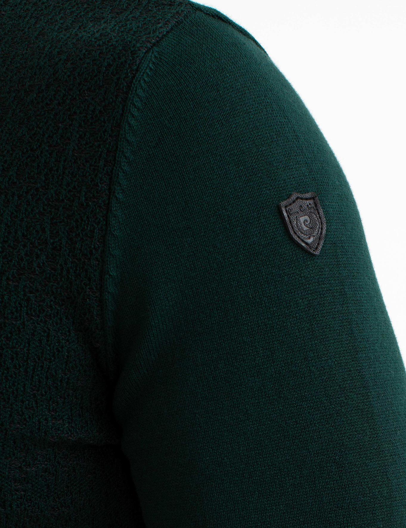 Yeşil Triko Kazak
