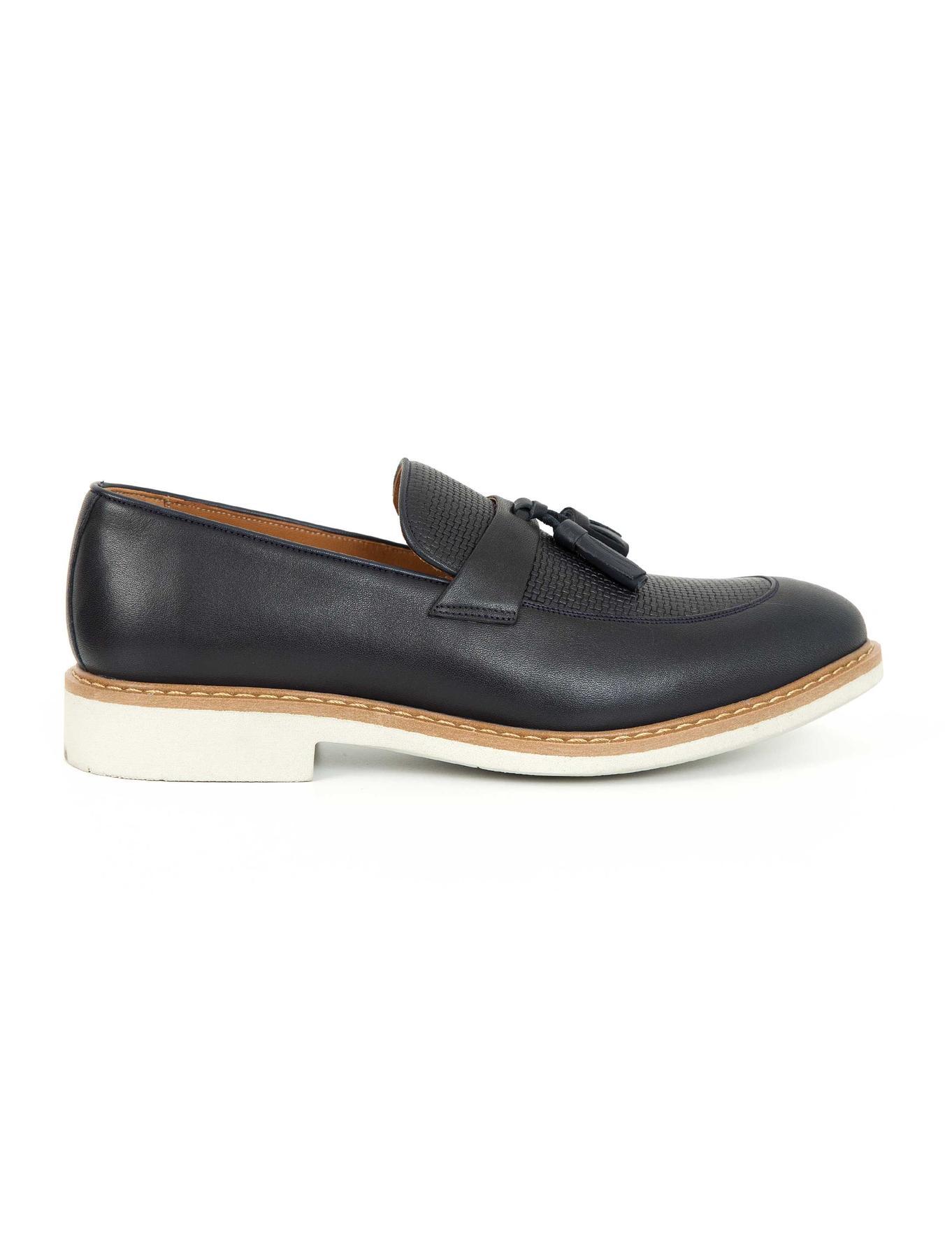 Lacivert Oxford Ayakkabı