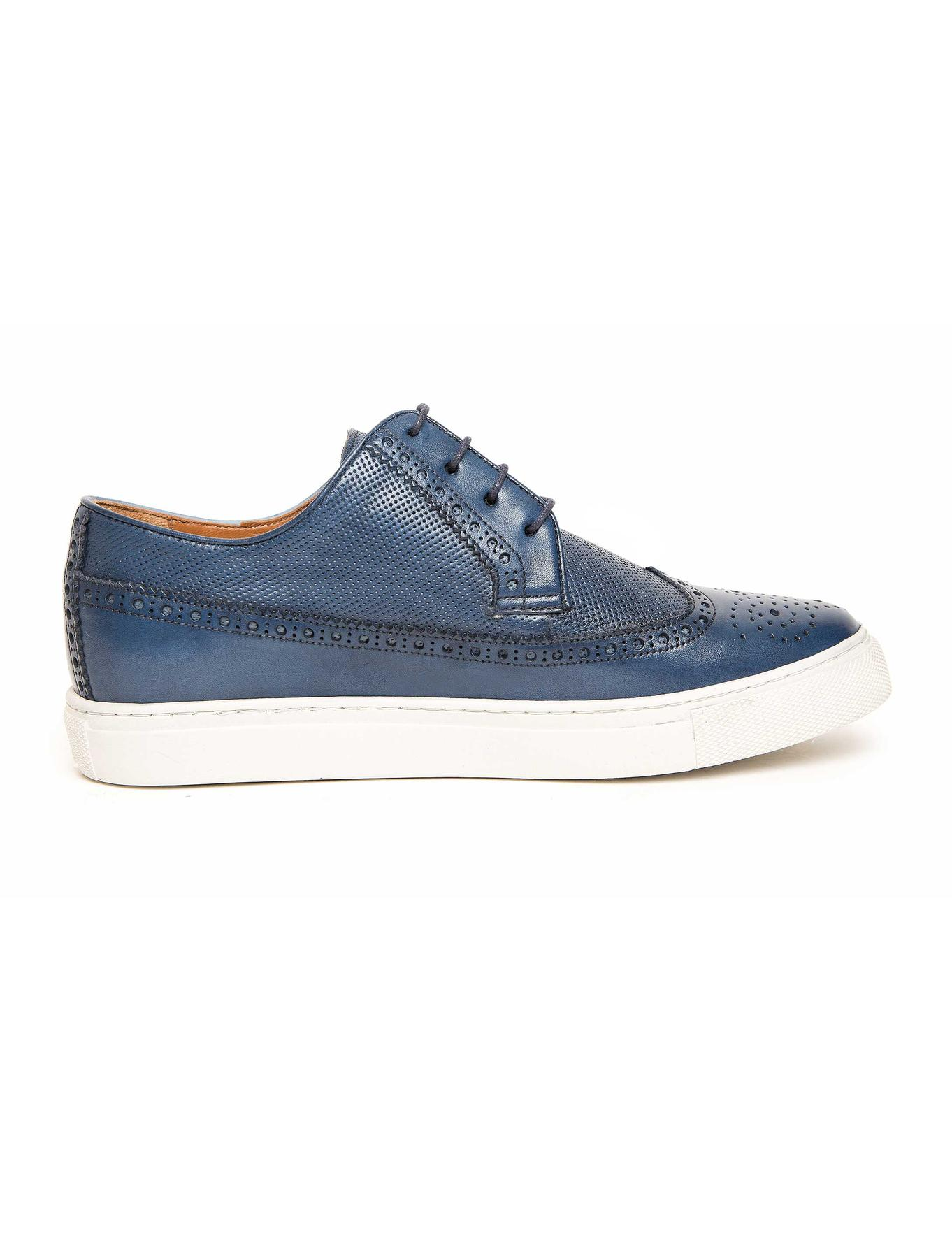 Mavi Oxford Ayakkabı