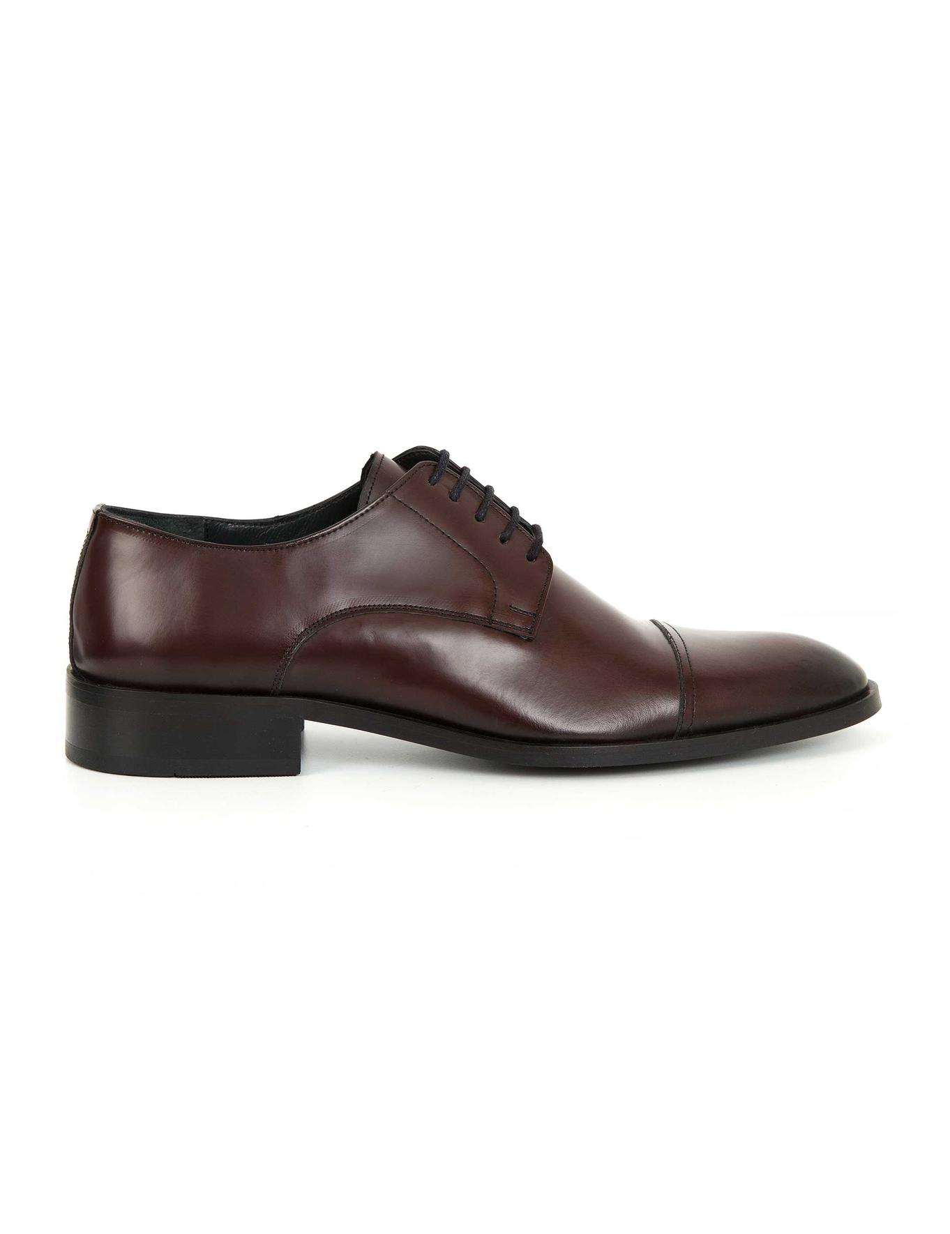 Bordo Klasik Ayakkabı