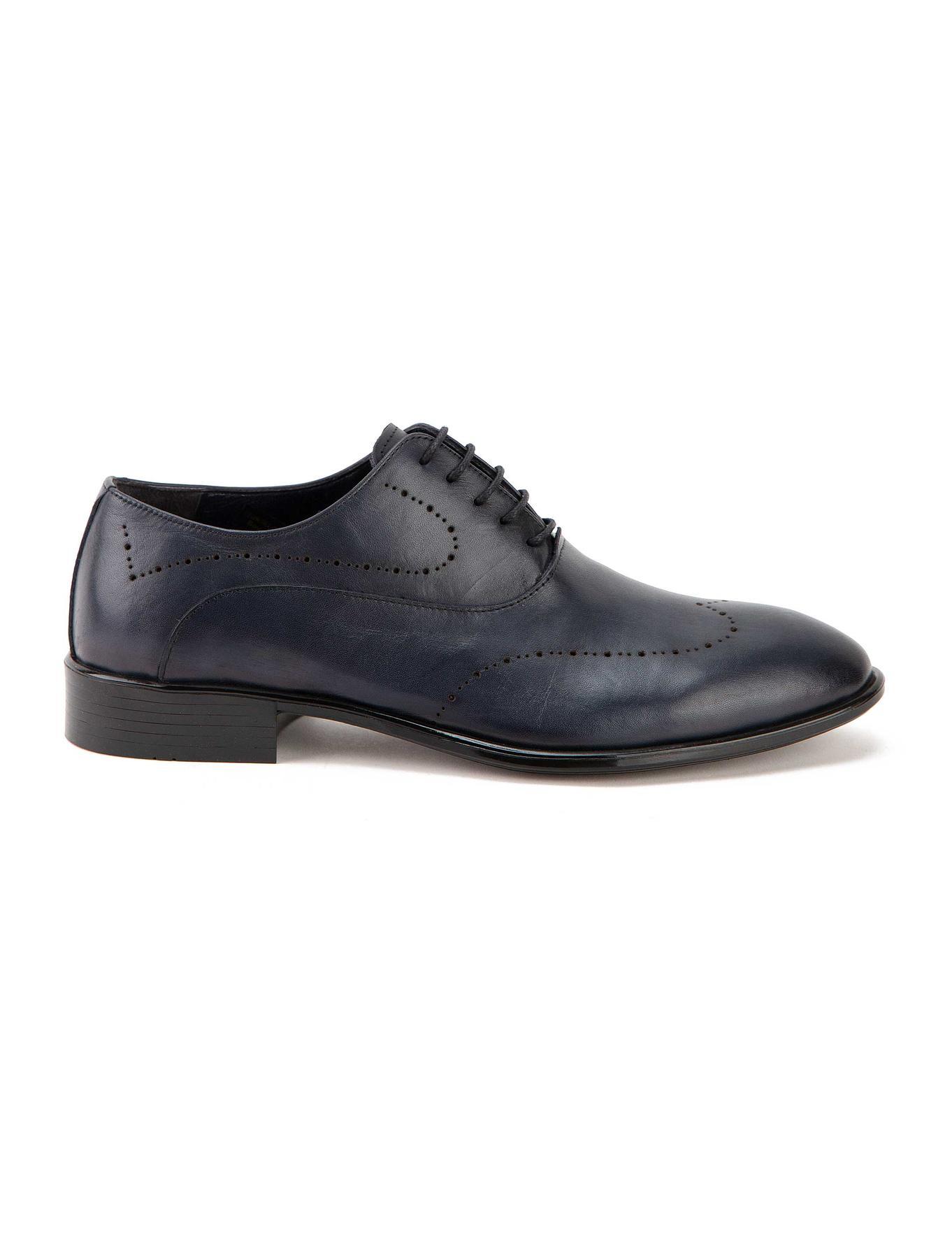 Lacivert Klasik Ayakkabı