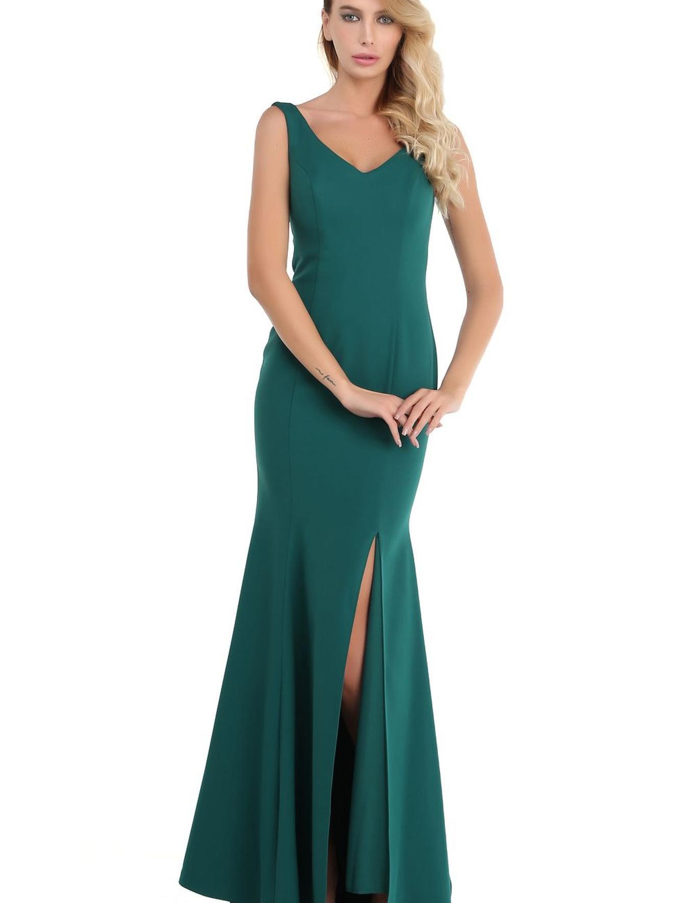Yeşil Dokuma Elbise