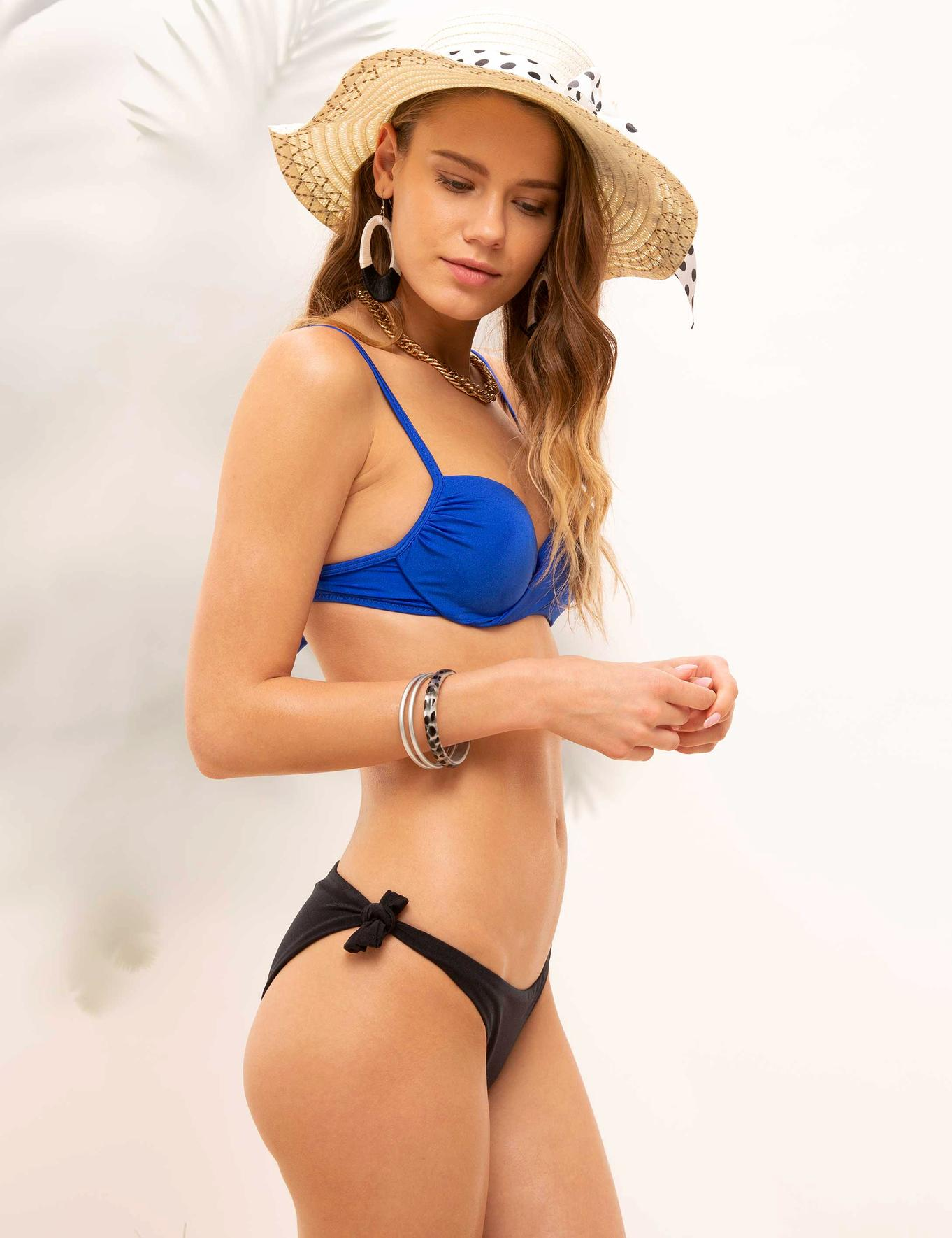 Mavi Bikini Üst