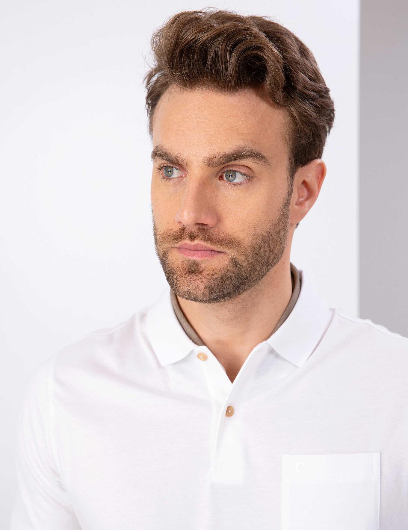 Beyaz Regular Fit T-Shirt