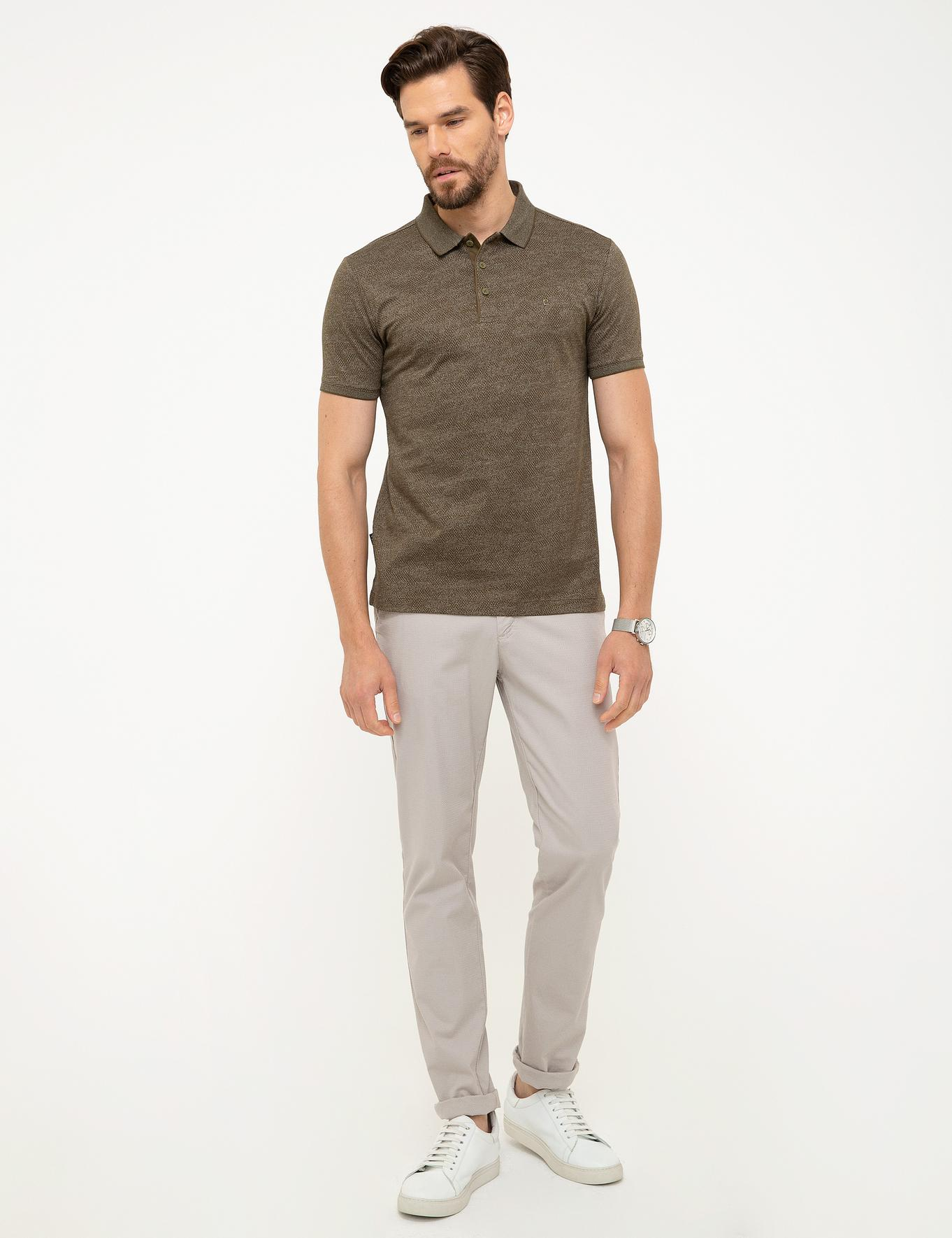 Haki Slim Fit T-Shirt