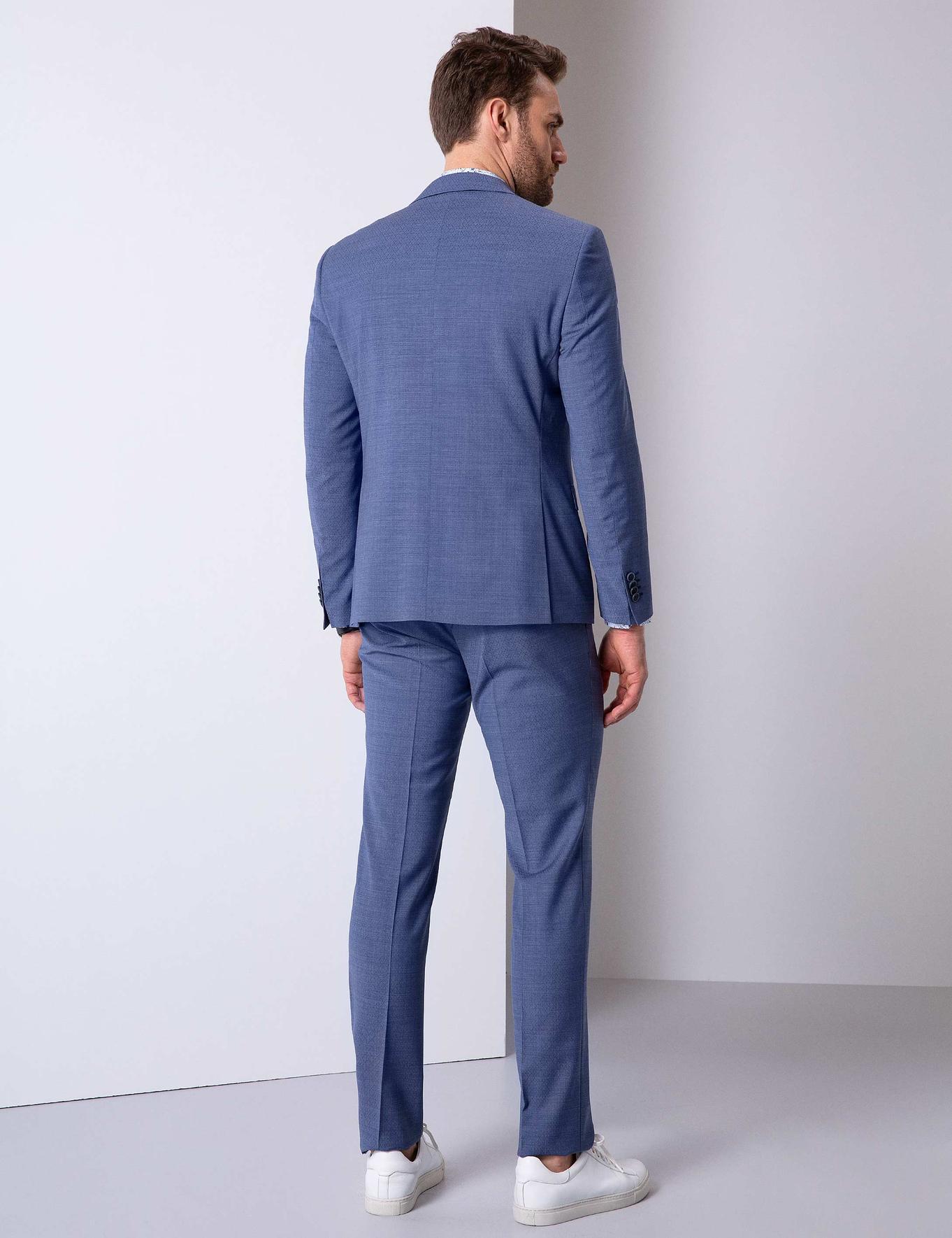 Mavi Takım Elbise