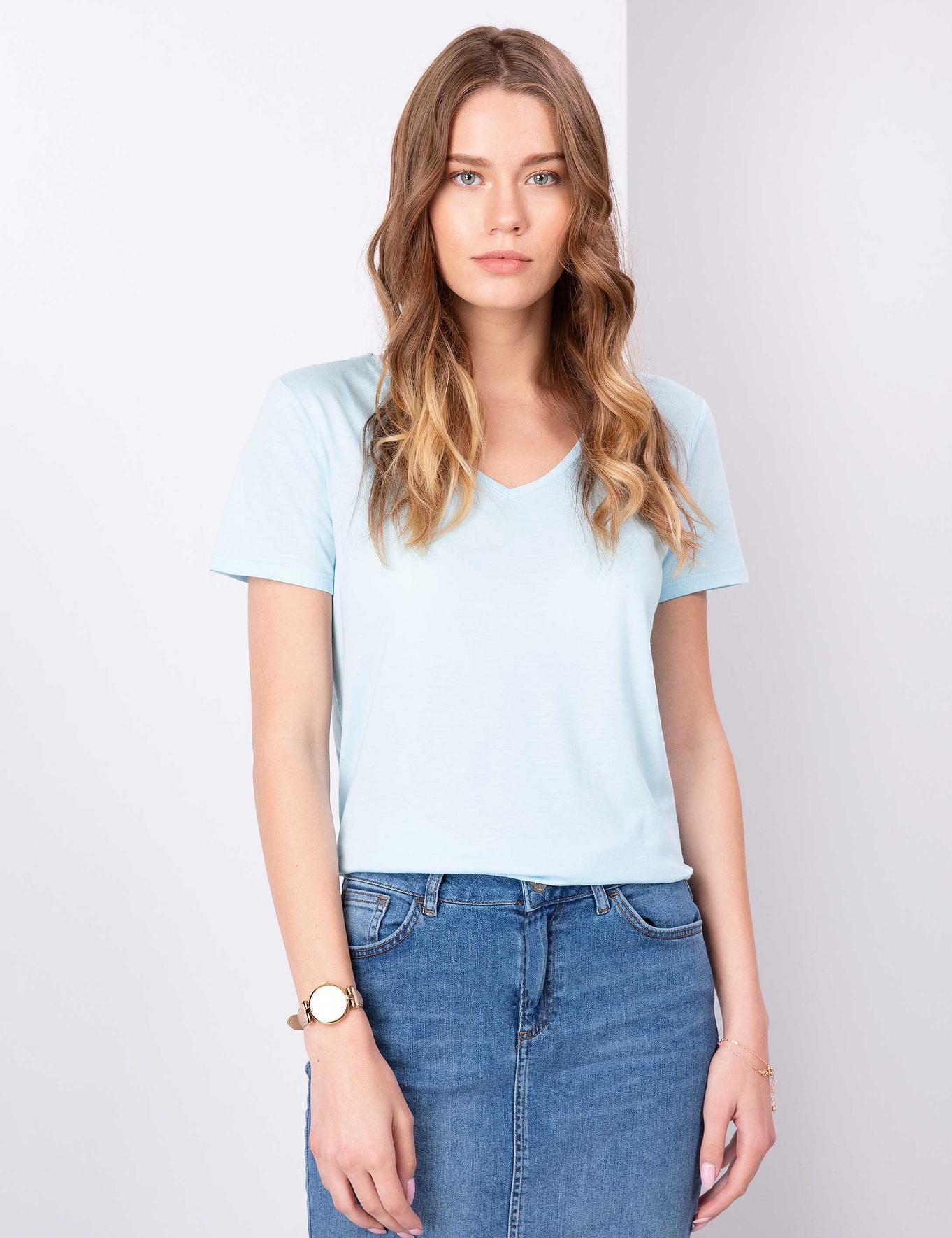 Açık Mavi T-Shirt