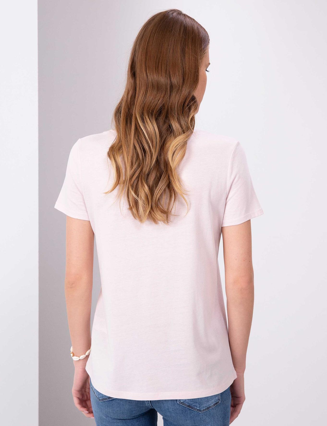 Pembe T-Shirt