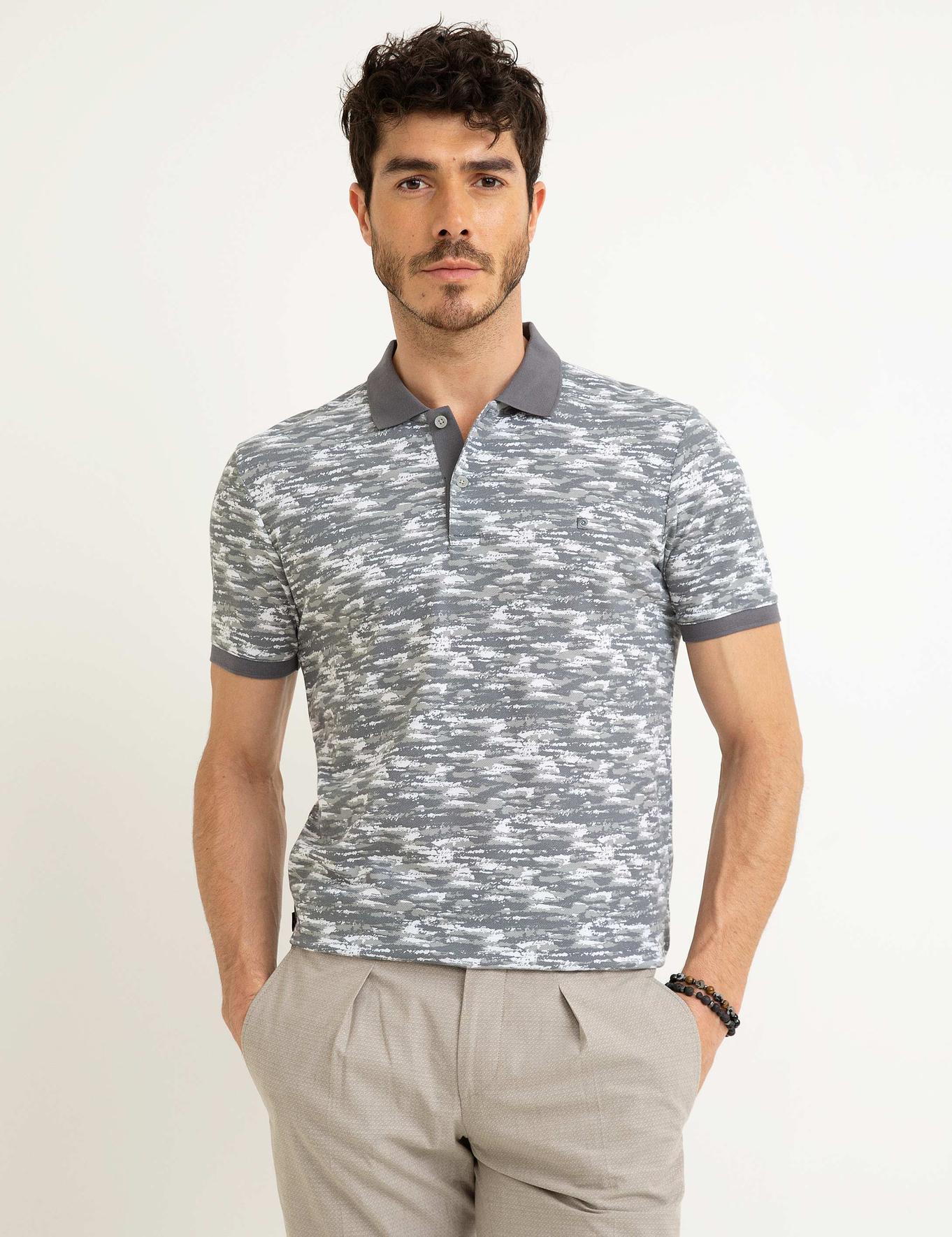 Gri Slim Fit T-Shirt