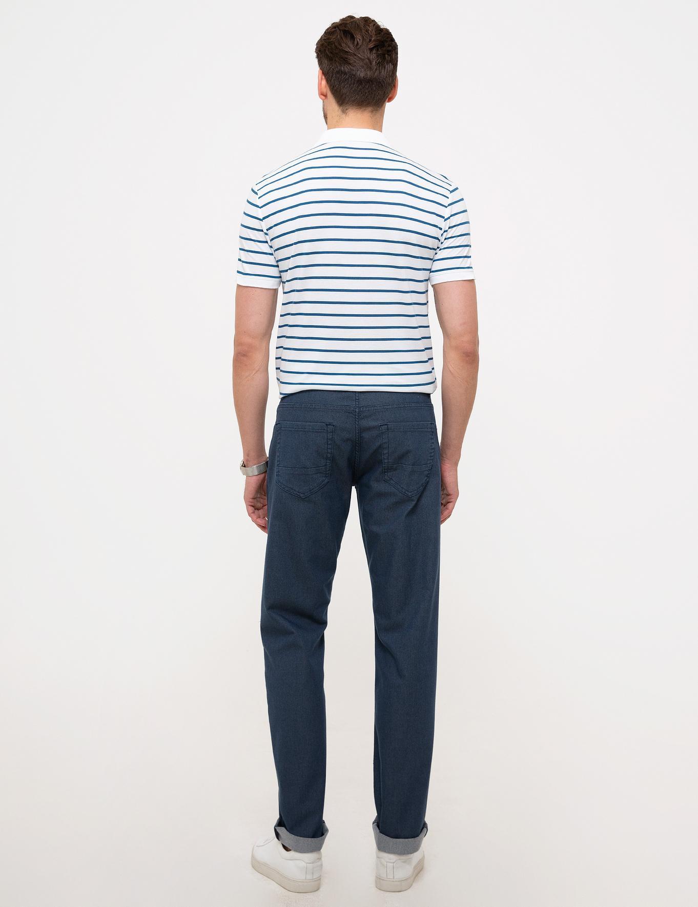 Gri Regular Fit Denim Pantolon