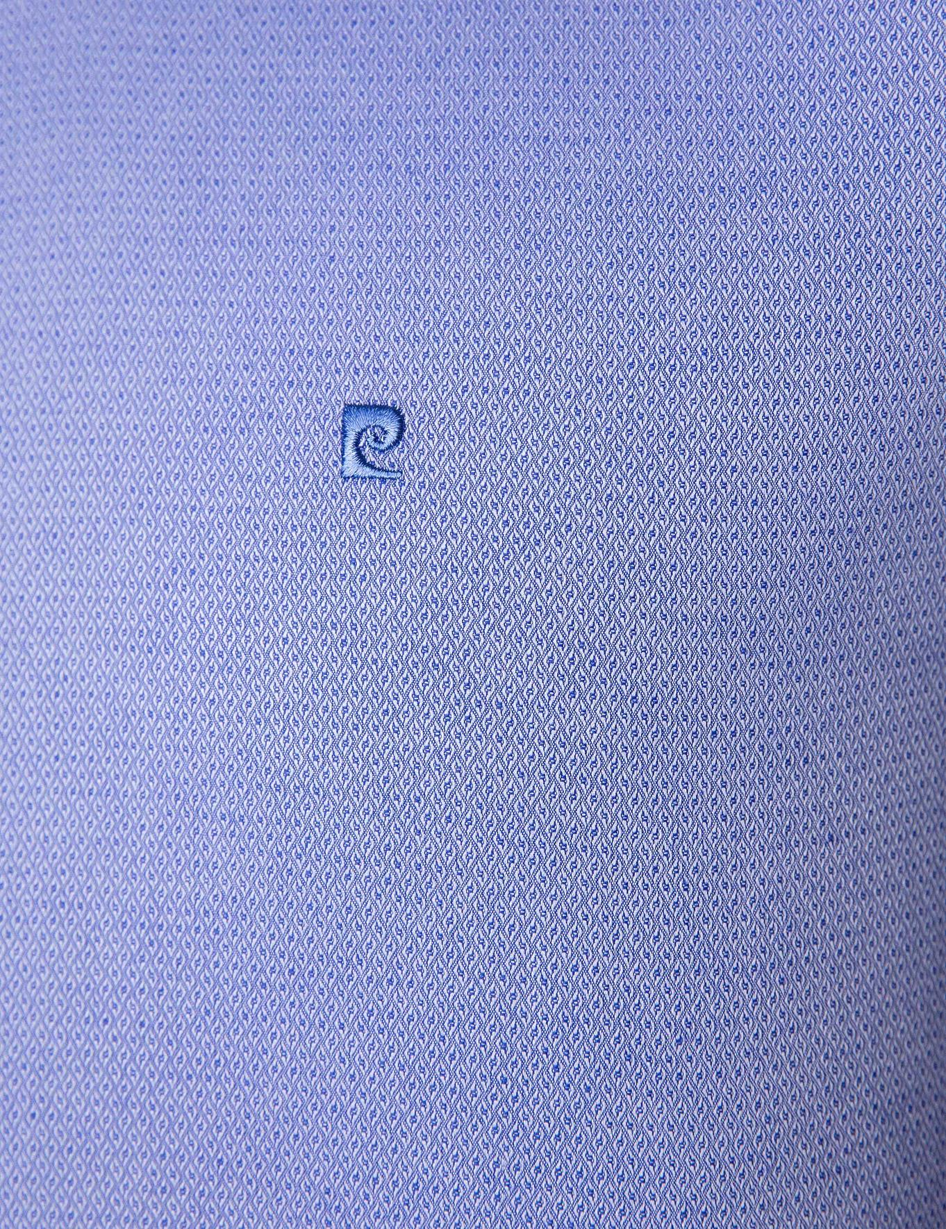 Koyu Mavi Slim Fit Gömlek