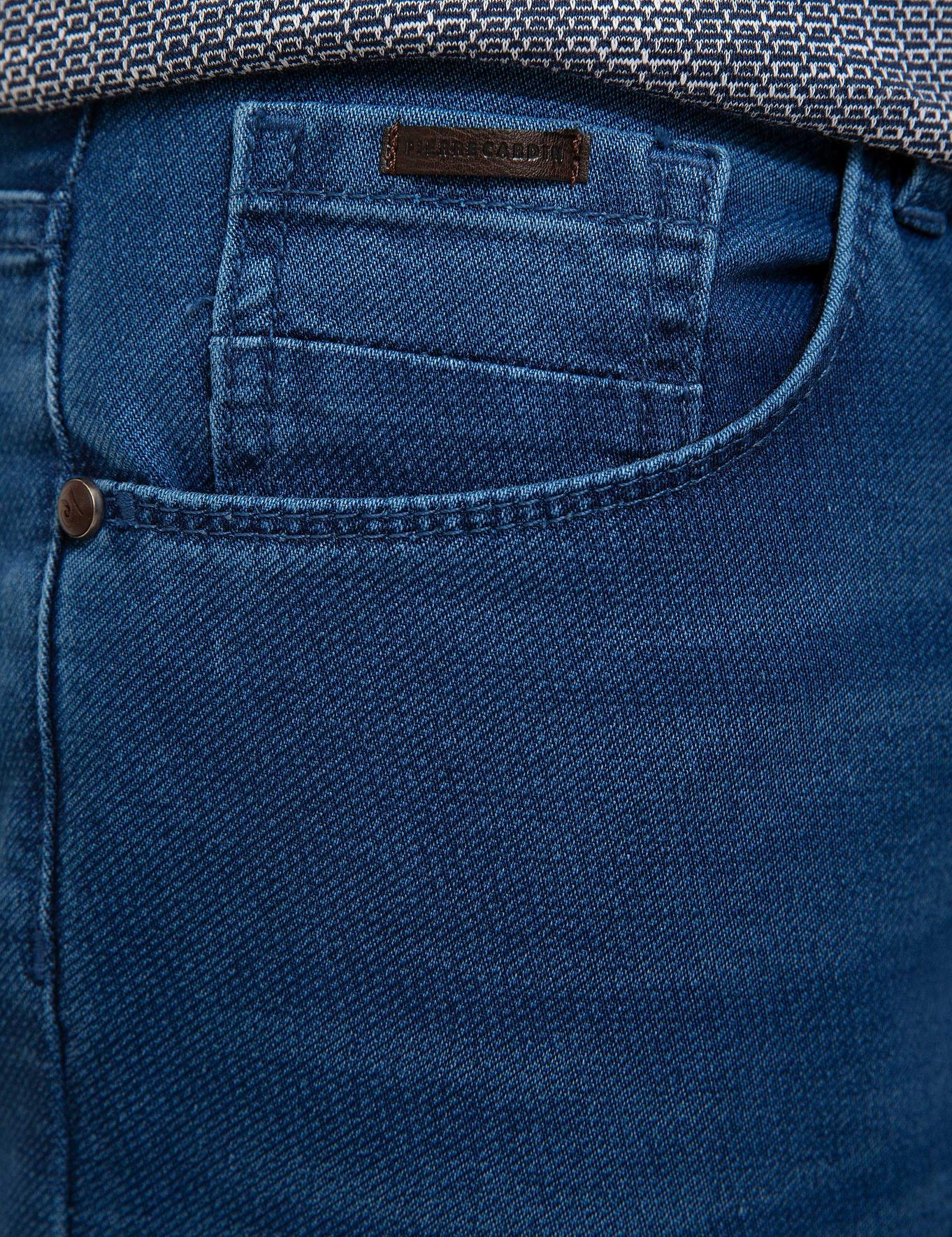 Lacivert Denim Pantolon
