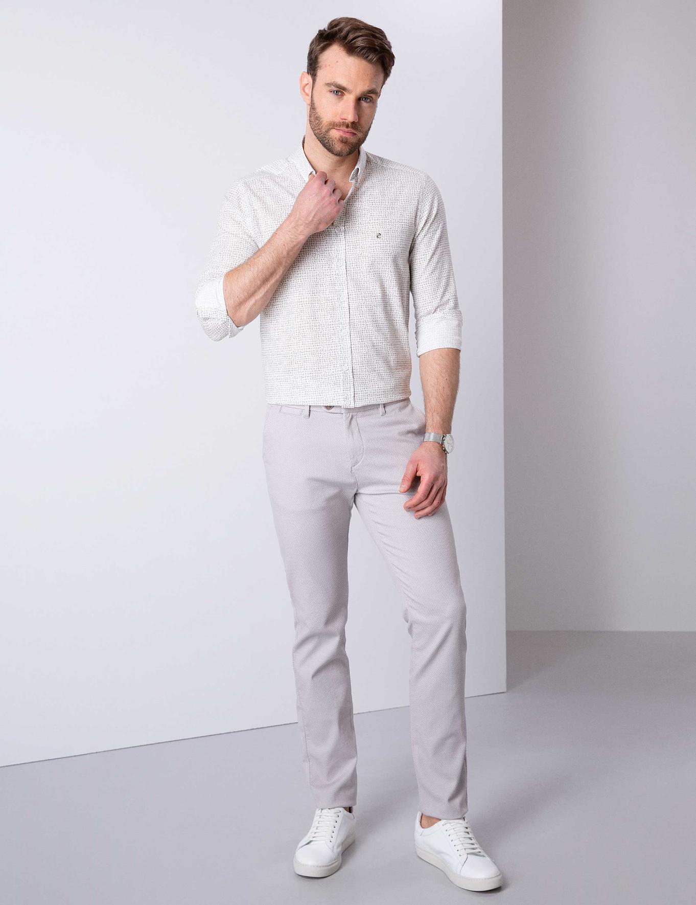 Taş Slim Fit Chino Pantolon