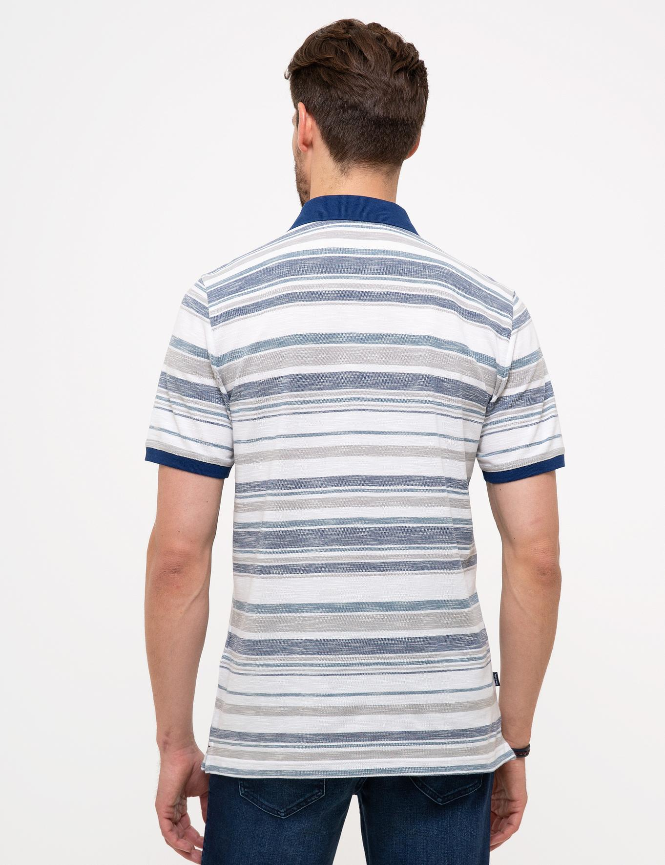 Lacivert Regular Fit Polo Yaka T-Shirt