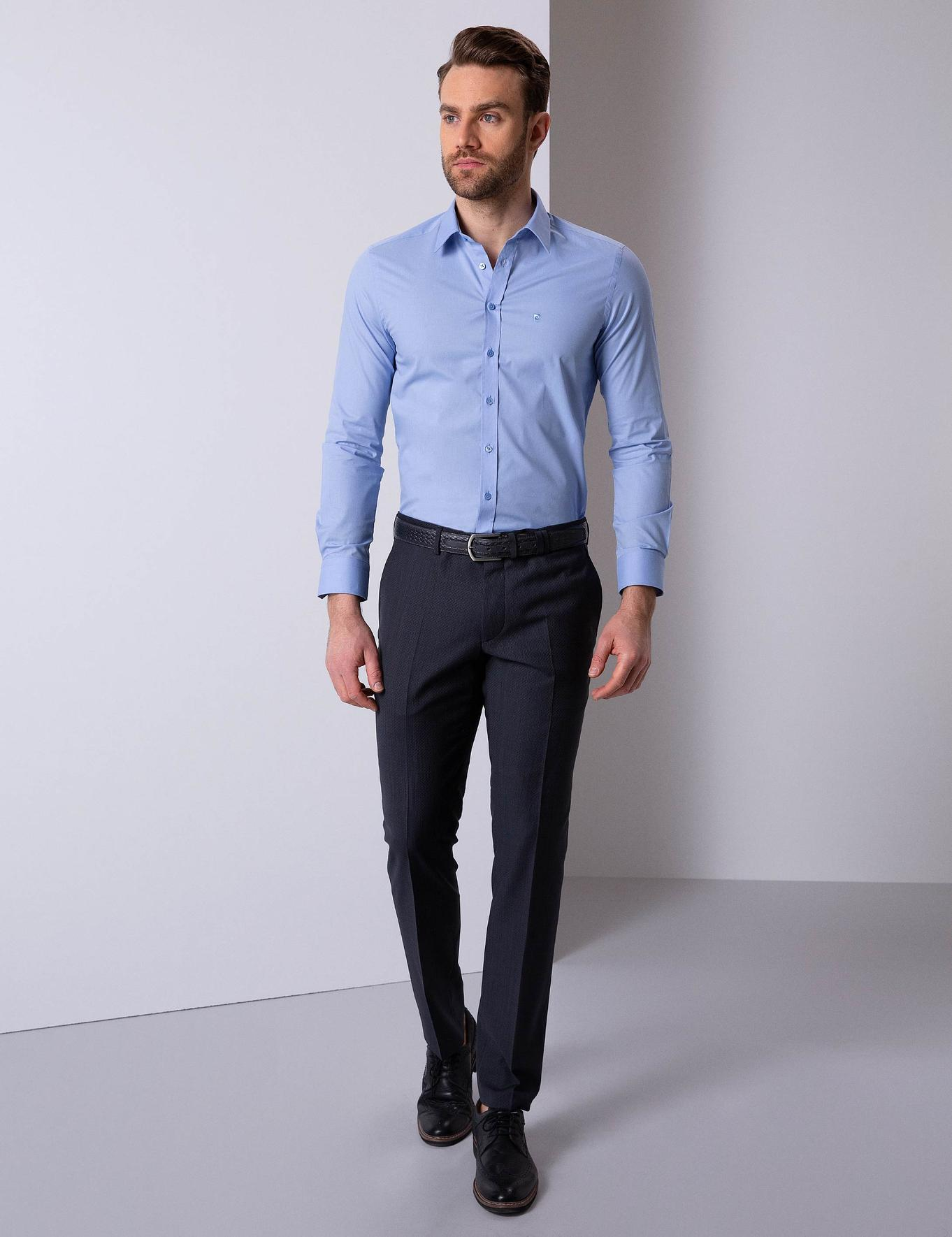 Mavi Slim Fit Basic Gömlek
