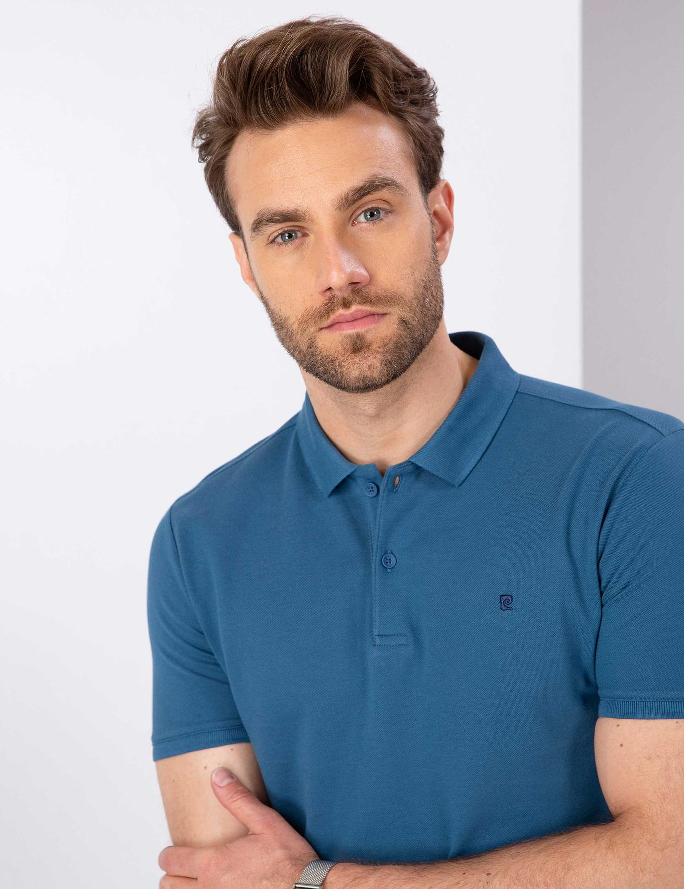 Mavi Slim Fit Basic Polo Yaka T-Shirt
