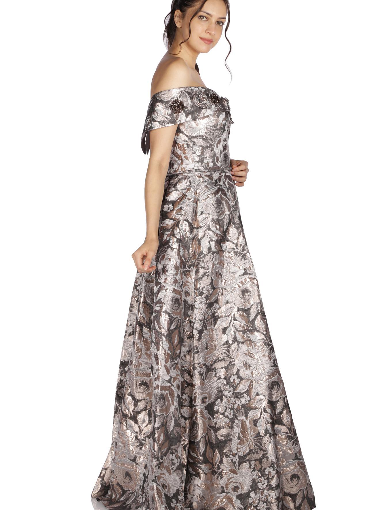 GRI Prenses Abiye Elbise