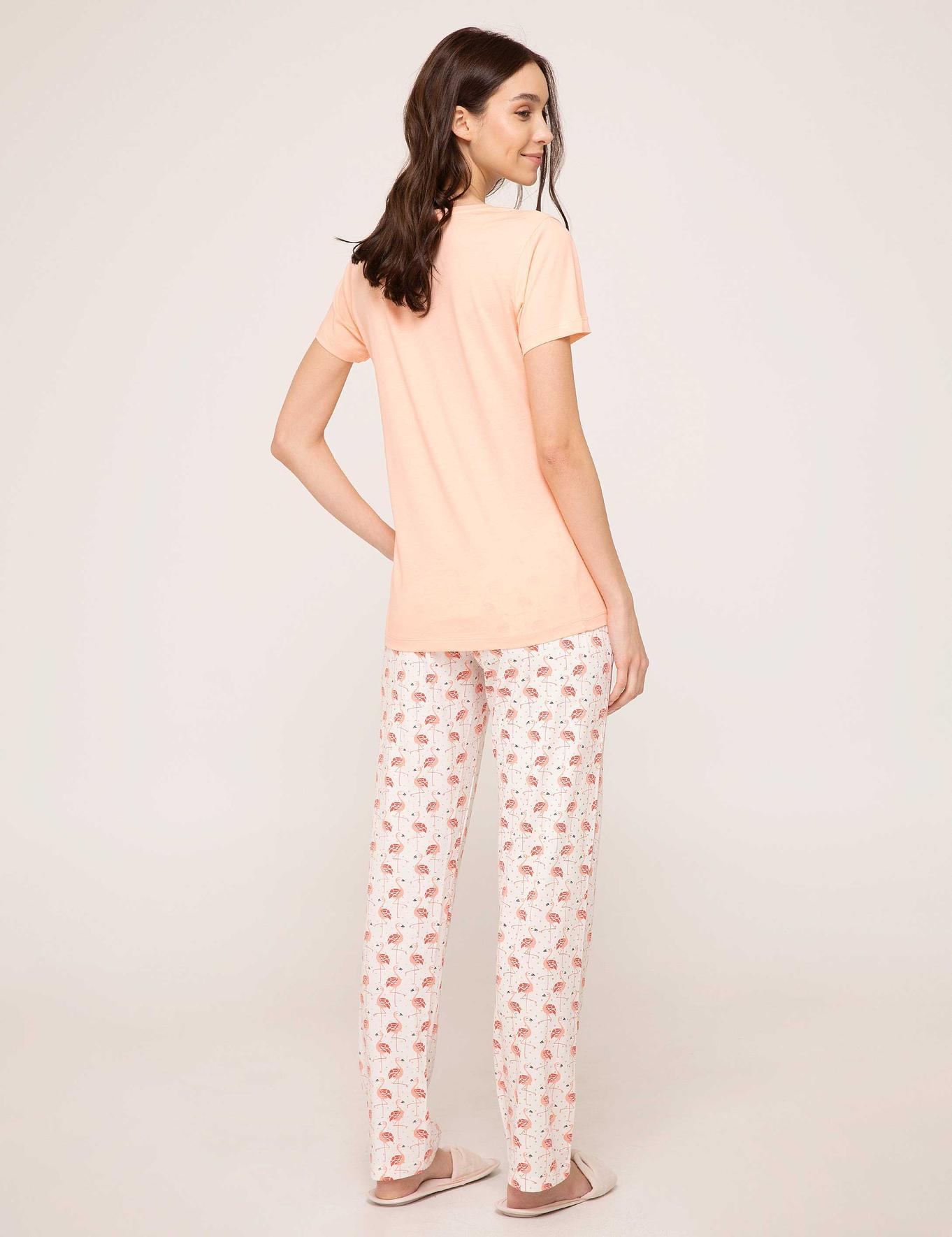 Turuncu Pijama Takımı