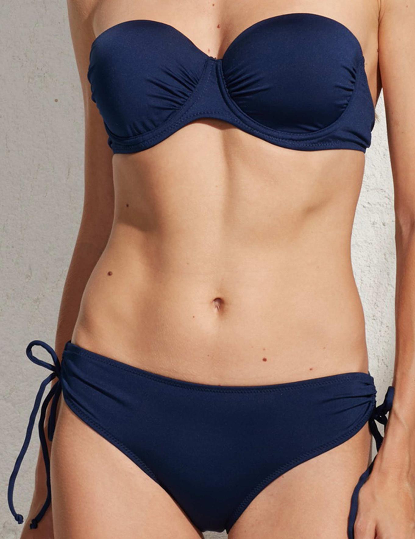 Lacivert Bikini Takım