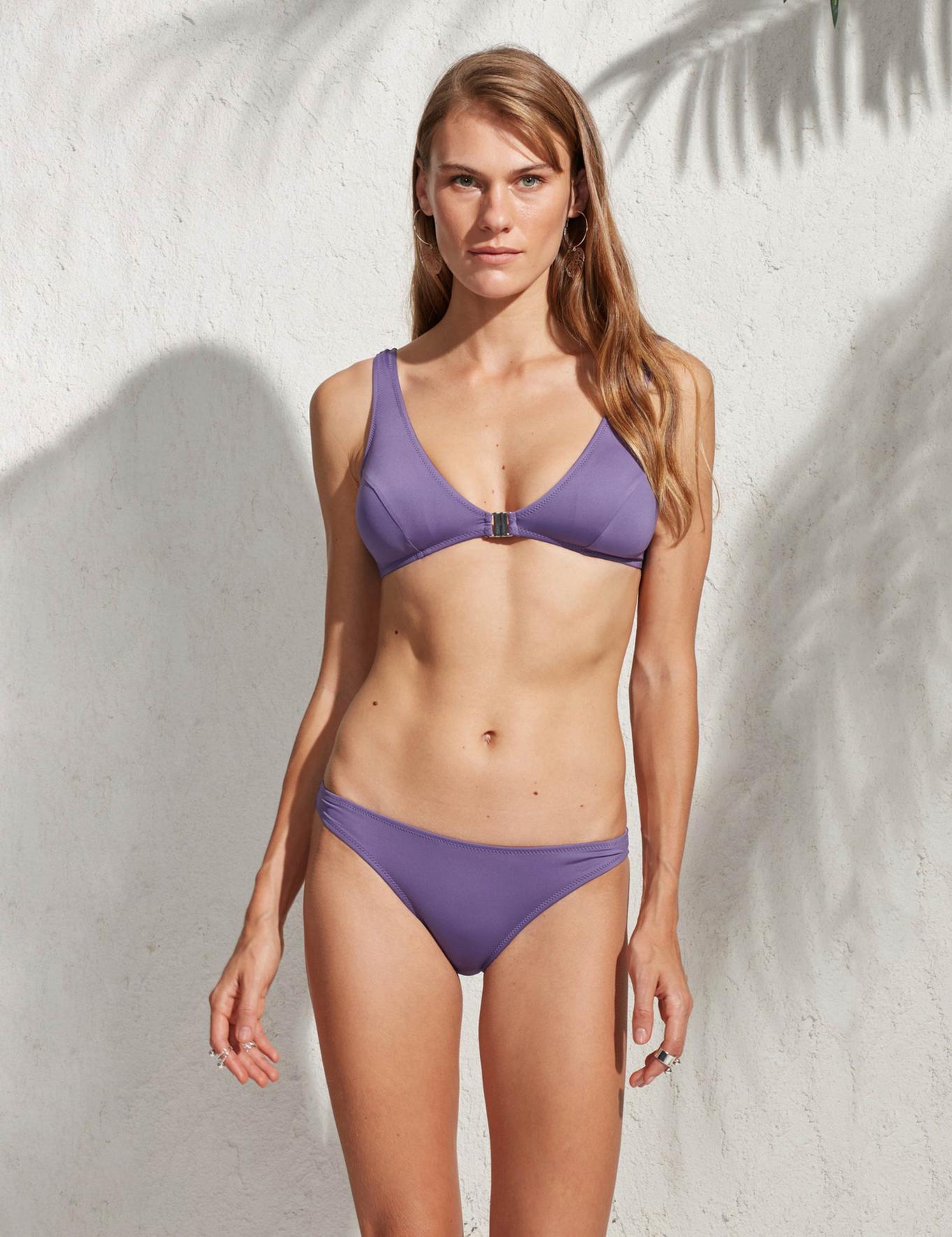 Mor Bikini Takım