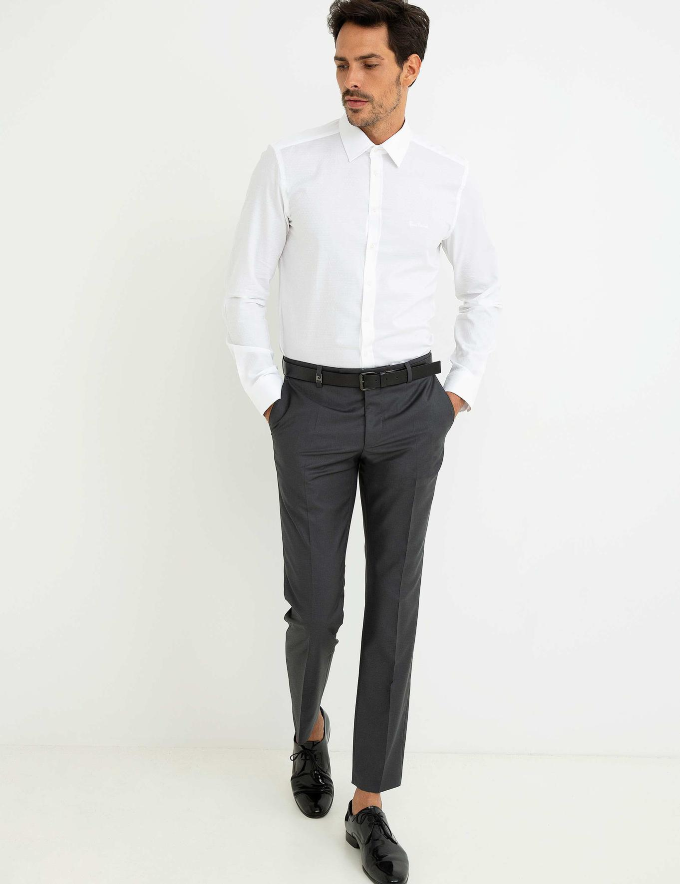 Füme Slim Fit Pantolon