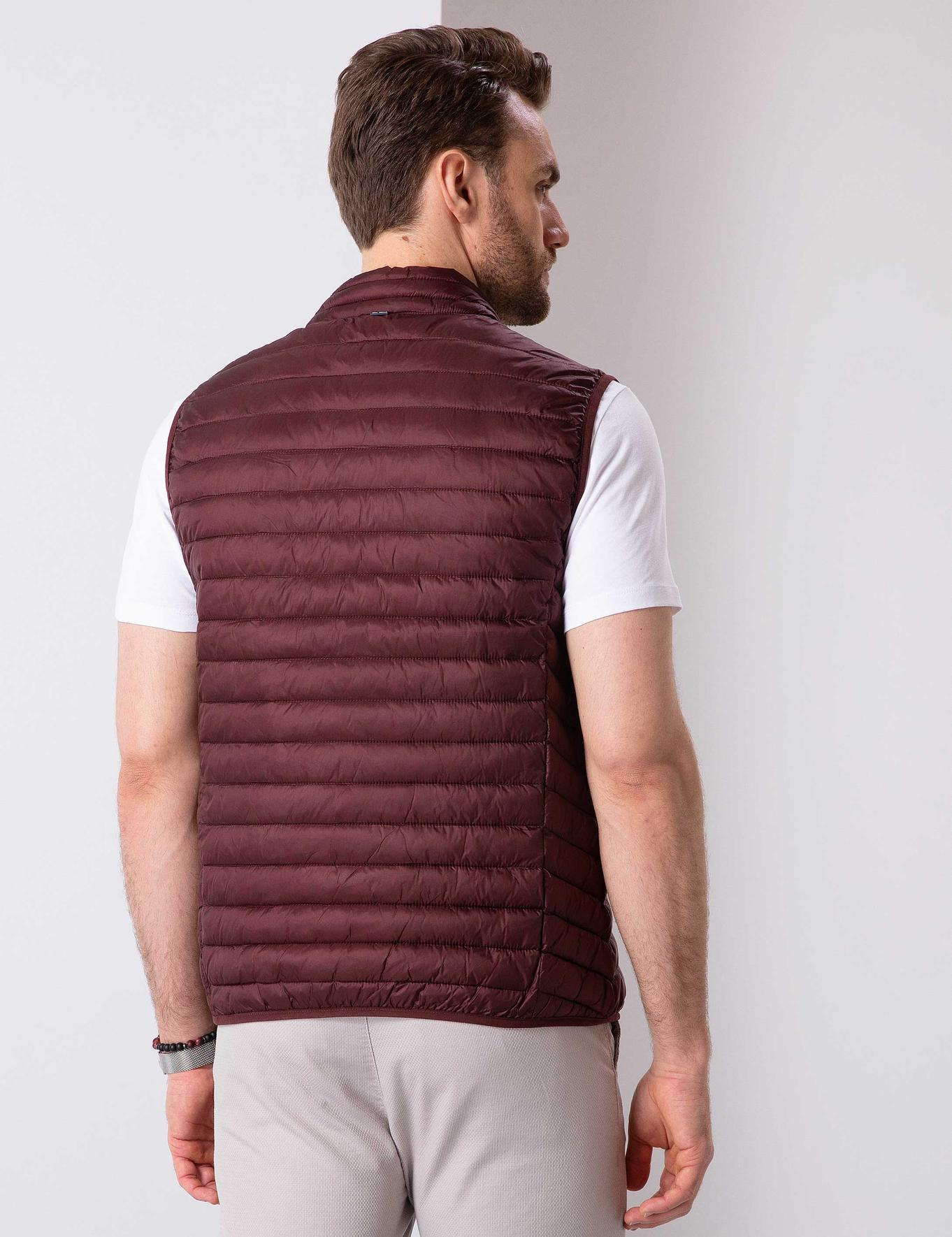 Bordo Standart Fit Mont Yelek