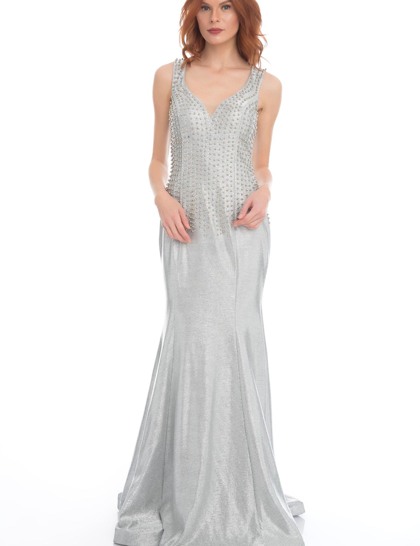 GRI Balık Abiye Elbise