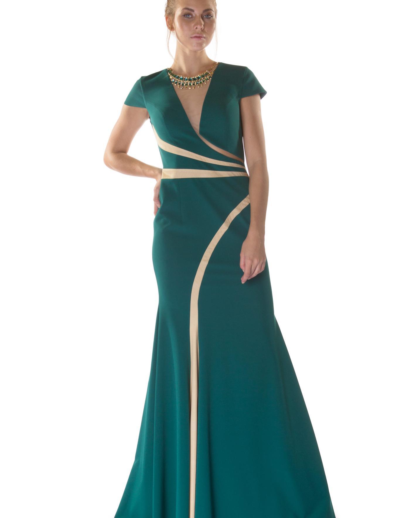 YESIL Balık Abiye Elbise