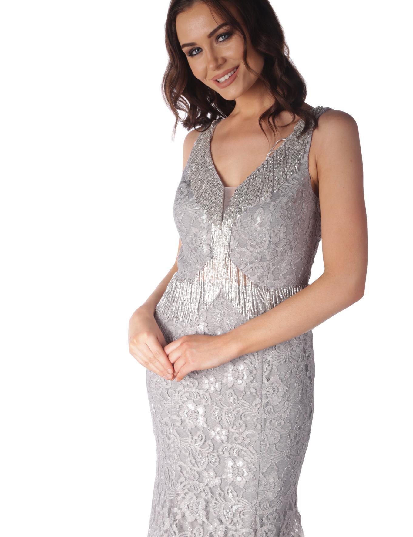 GRI Uzun Abiye Elbise